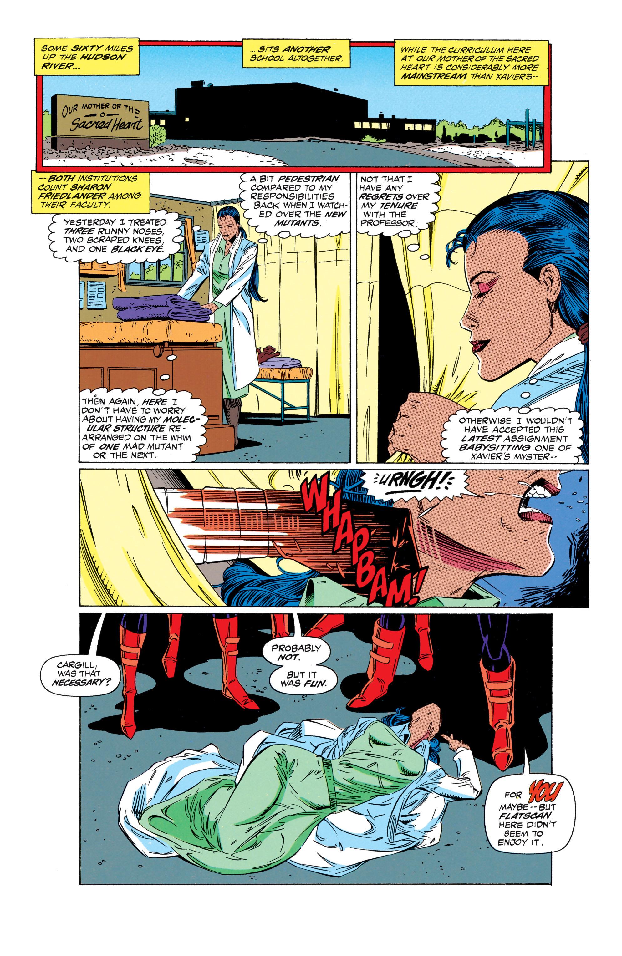 Read online Uncanny X-Men (1963) comic -  Issue #298 - 5