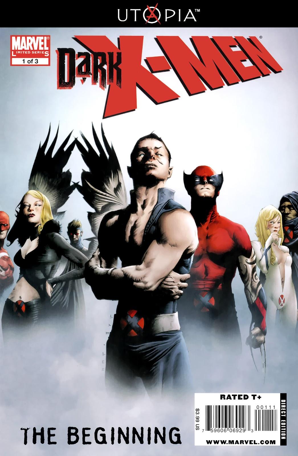 Dark X-Men: The Beginning issue 1 - Page 1