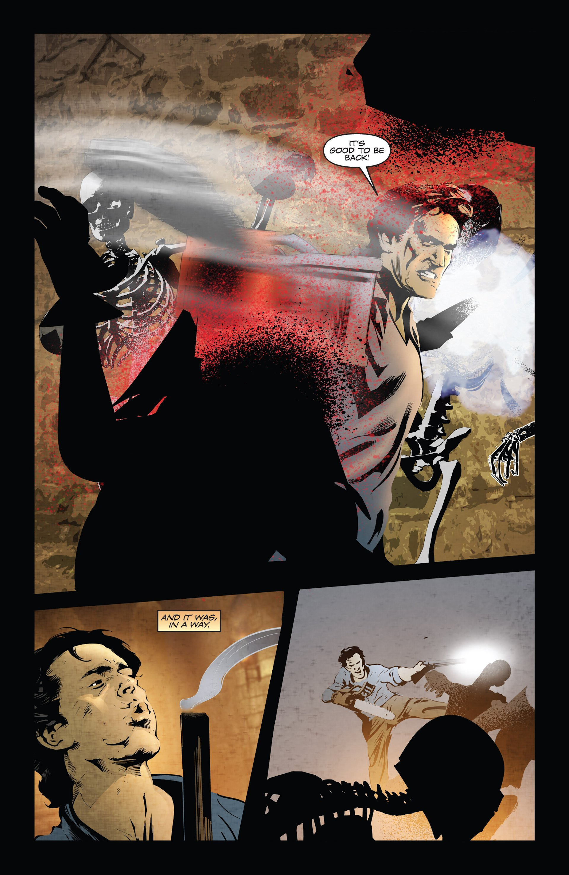 Read online Ash and the Army of Darkness comic -  Issue #3 - 3