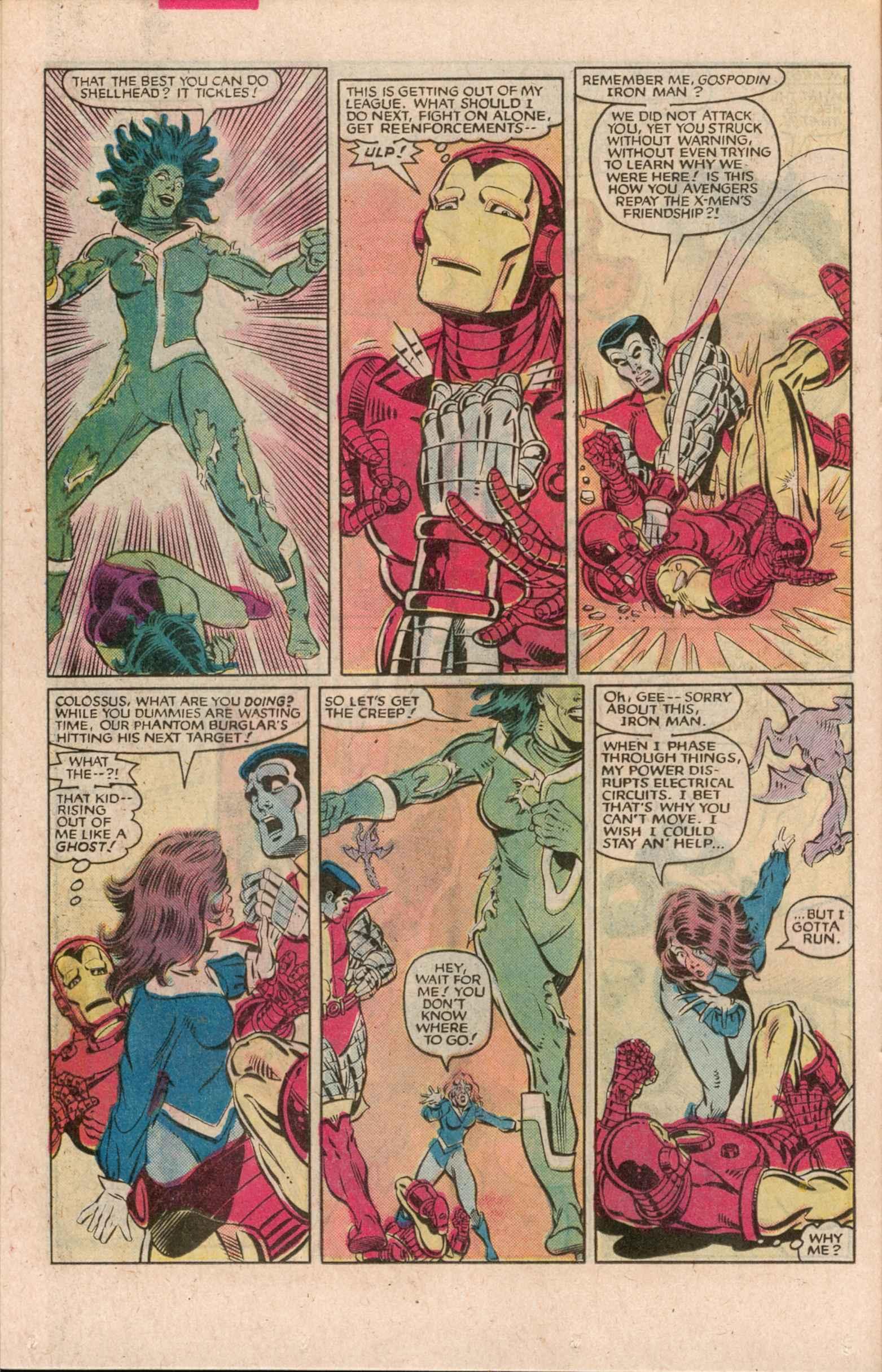 Read online Uncanny X-Men (1963) comic -  Issue # _Annual 7 - 19