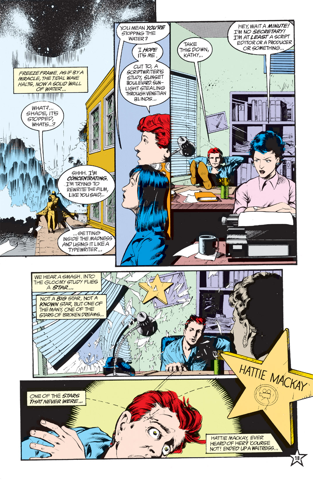 Read online Shade, the Changing Man comic -  Issue #6 - 20
