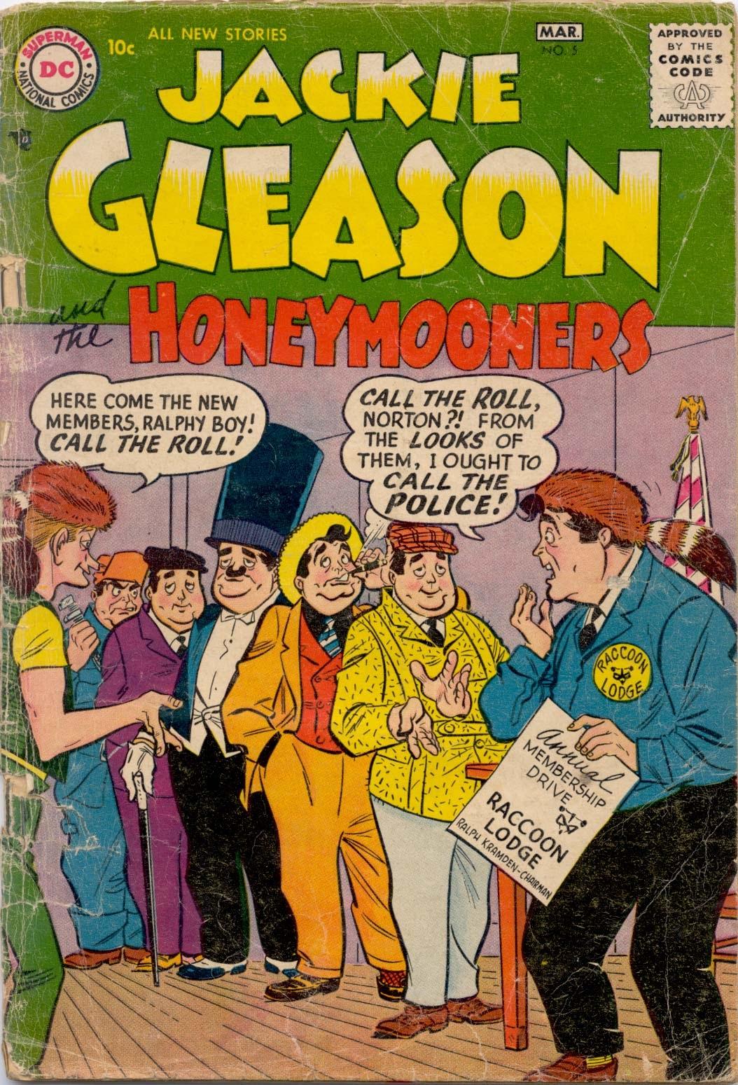 Jackie Gleason and the Honeymooners 5 Page 1