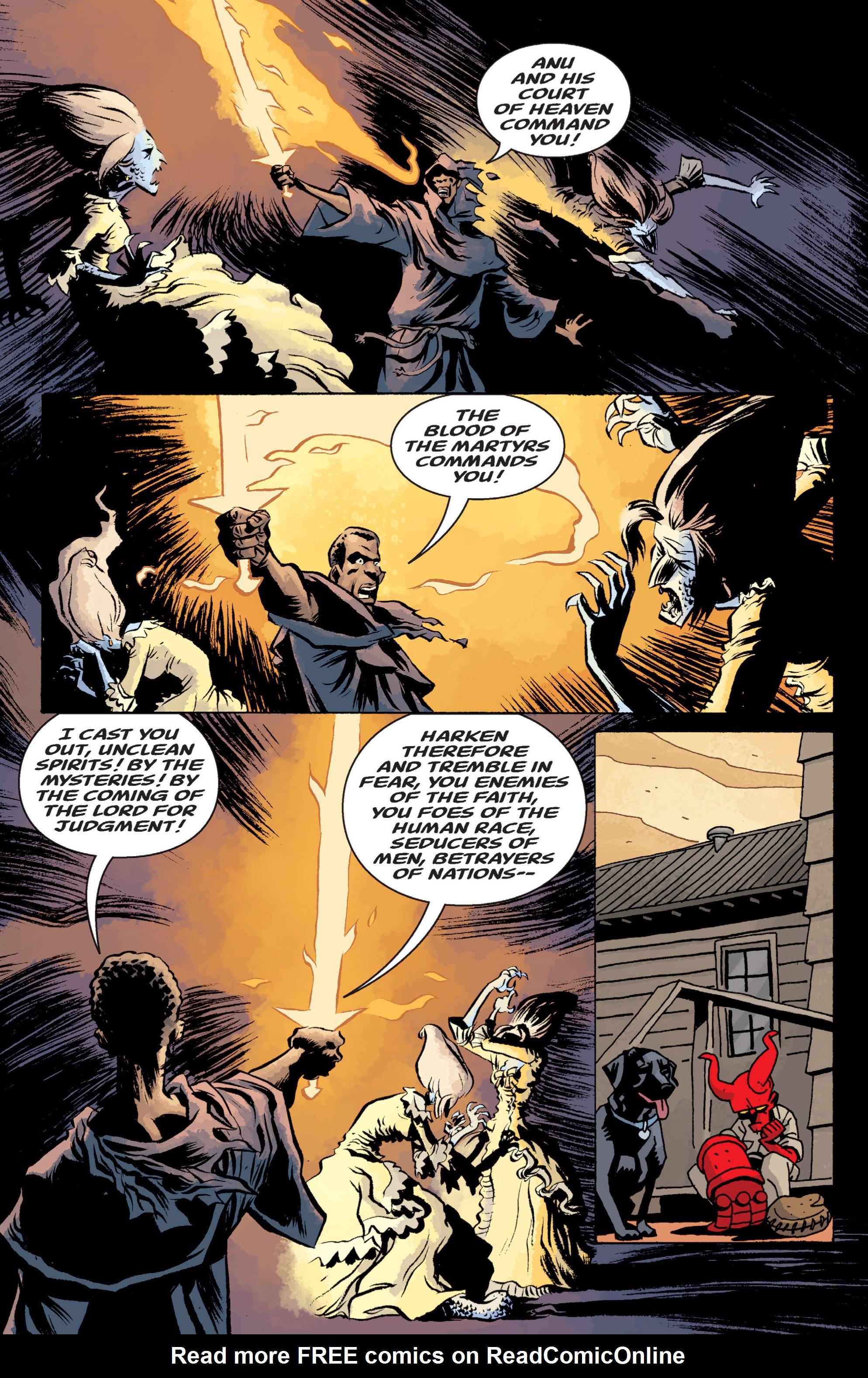Read online B.P.R.D. (2003) comic -  Issue # TPB 13 - 124