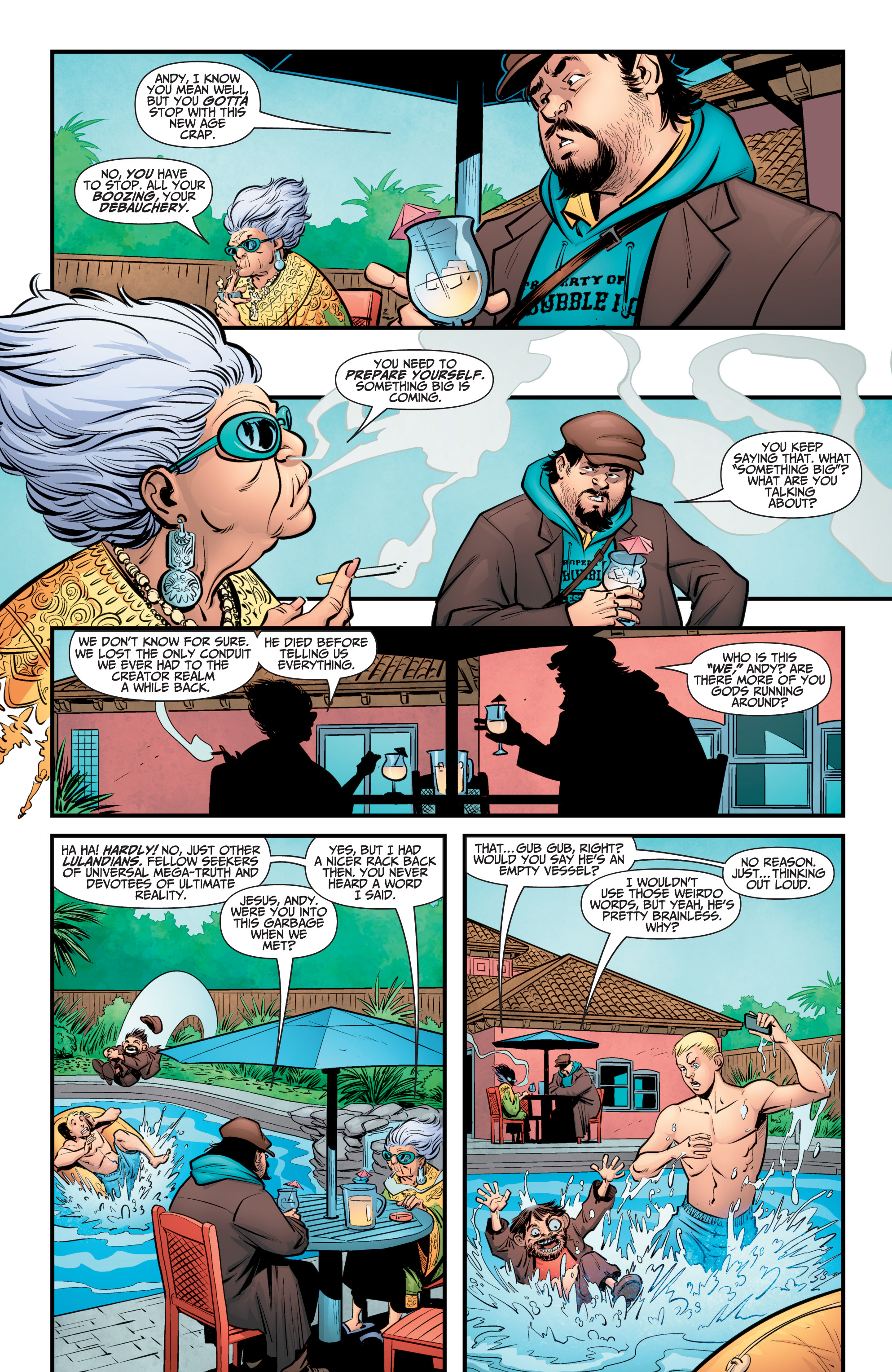 Read online A&A: The Adventures of Archer & Armstrong comic -  Issue #9 - 14