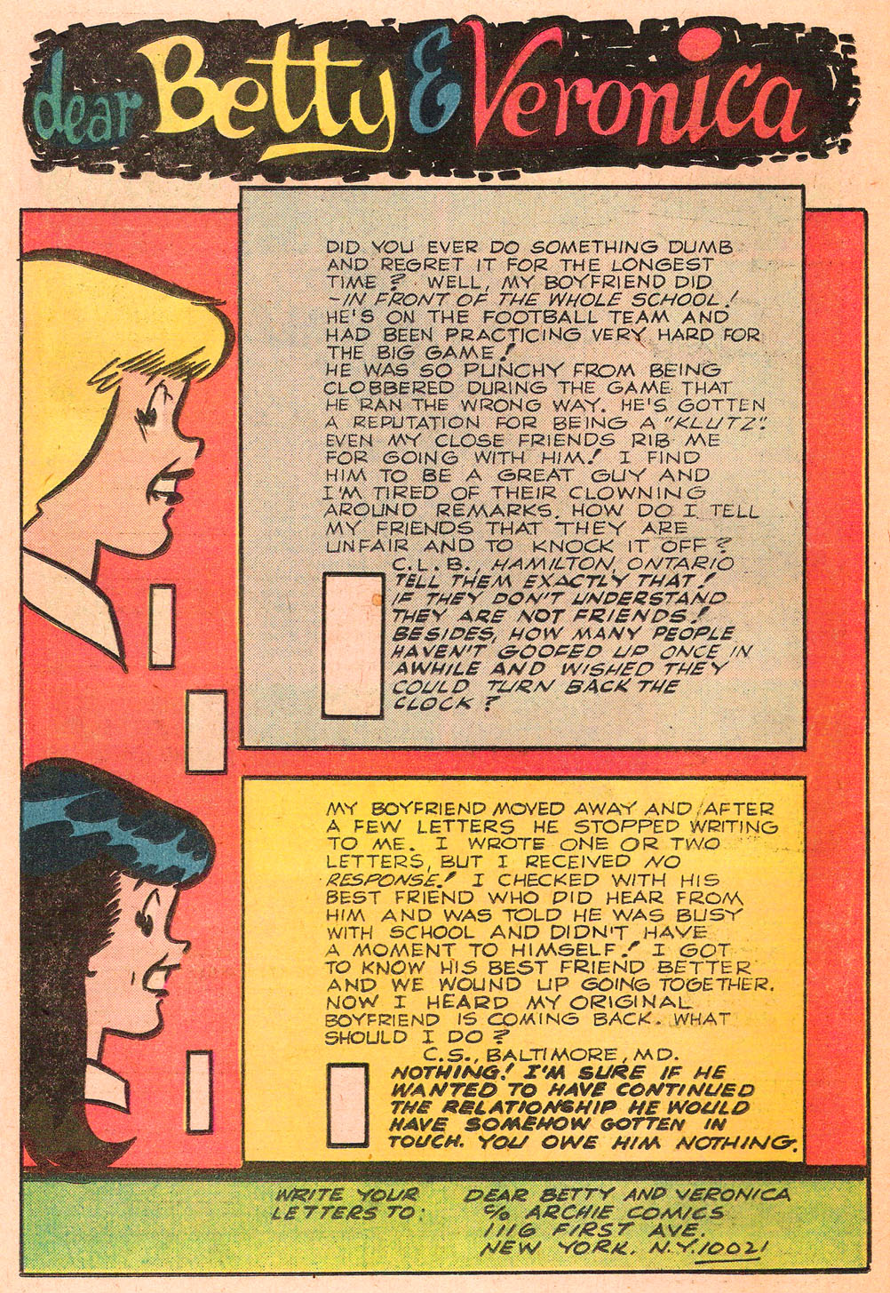 Read online Archie's Girls Betty and Veronica comic -  Issue #271 - 26