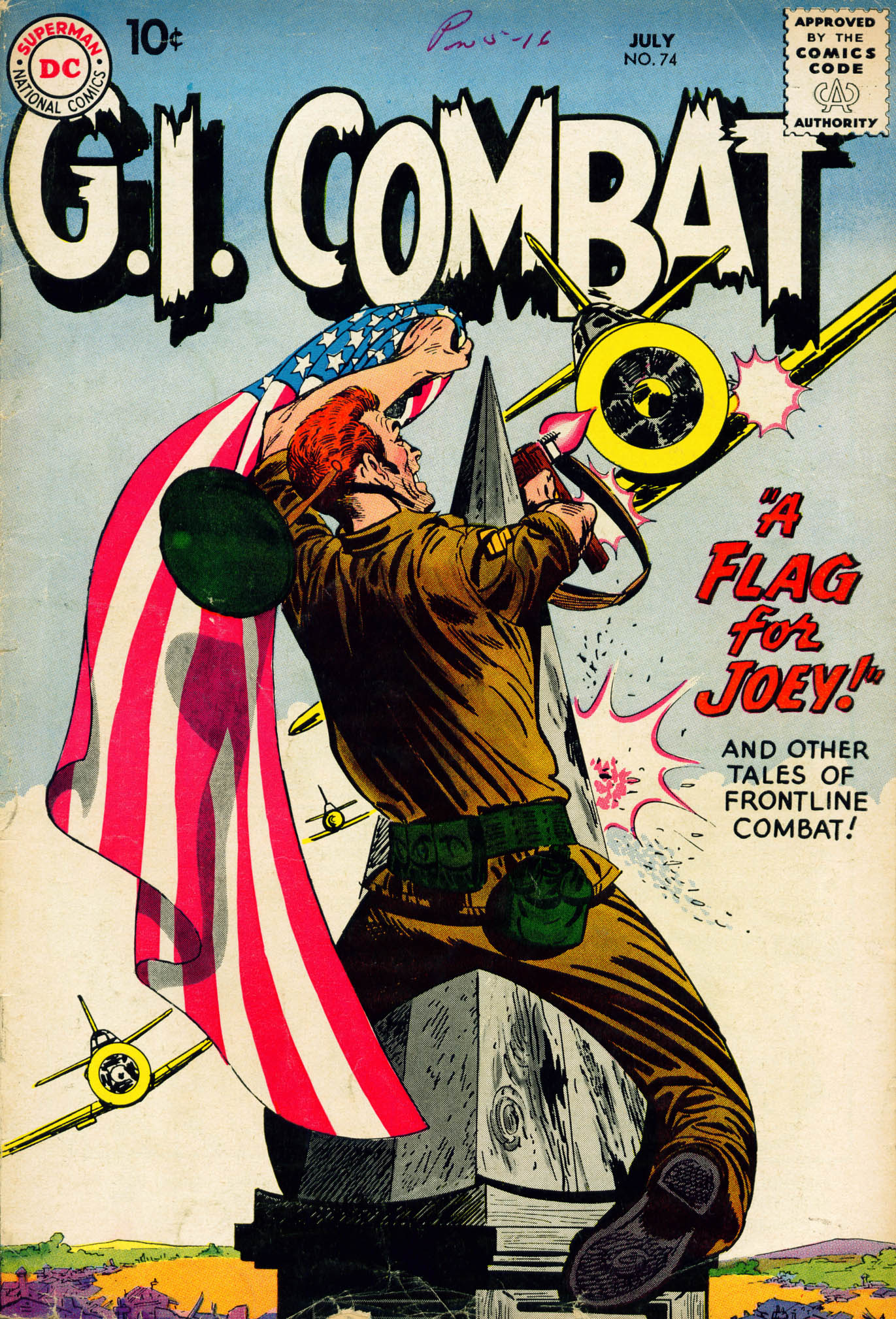 G.I. Combat (1952) 74 Page 1