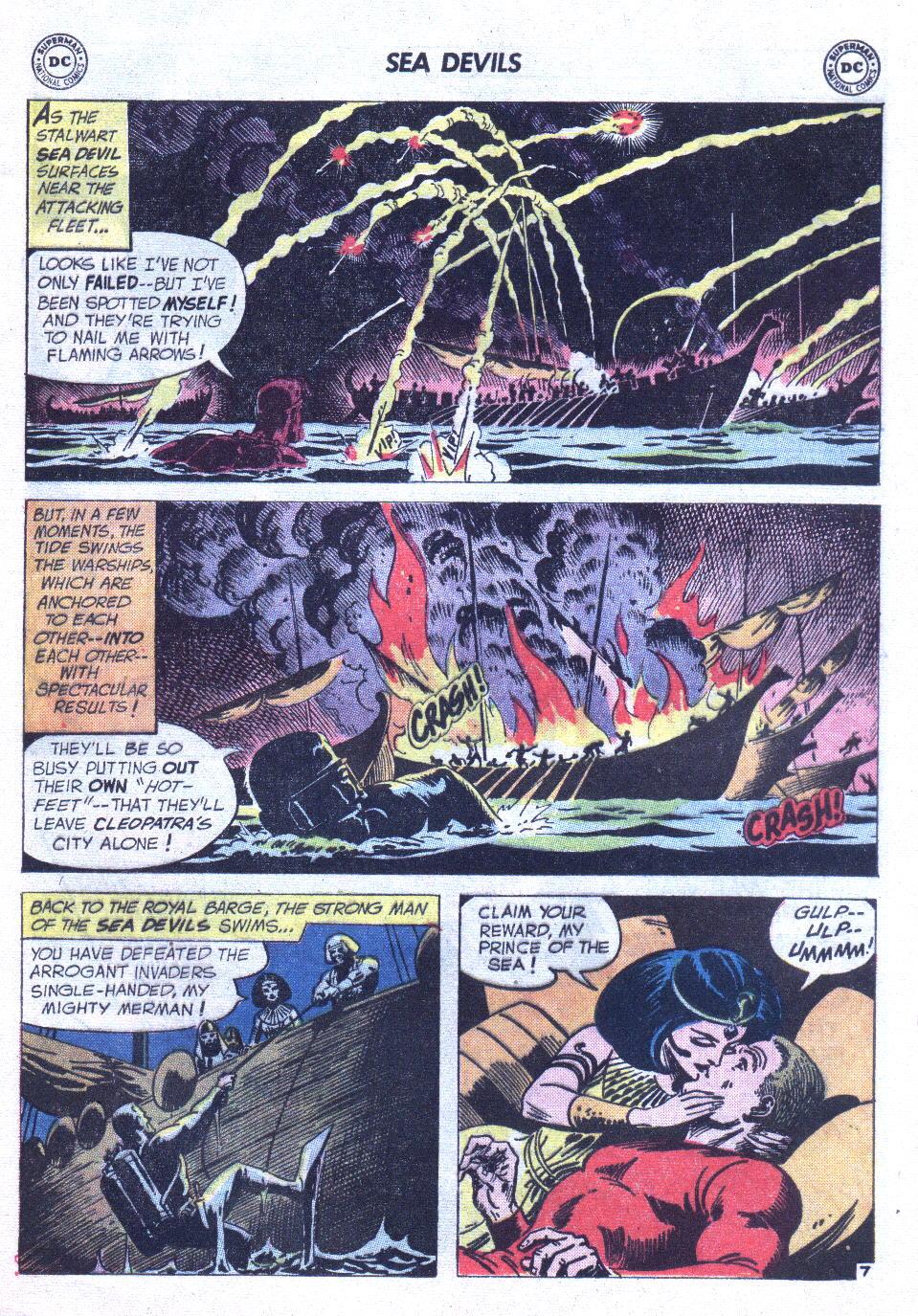 Read online Sea Devils comic -  Issue #6 - 10