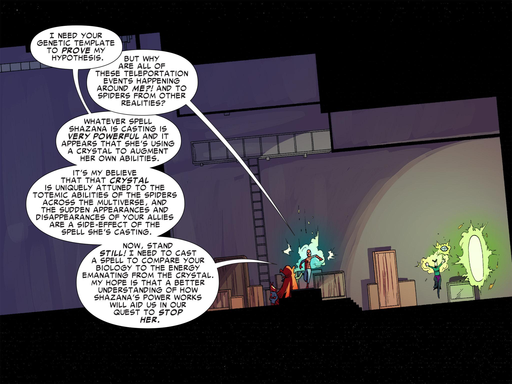 Read online Ultimate Spider-Man (Infinite Comics) (2016) comic -  Issue #9 - 32