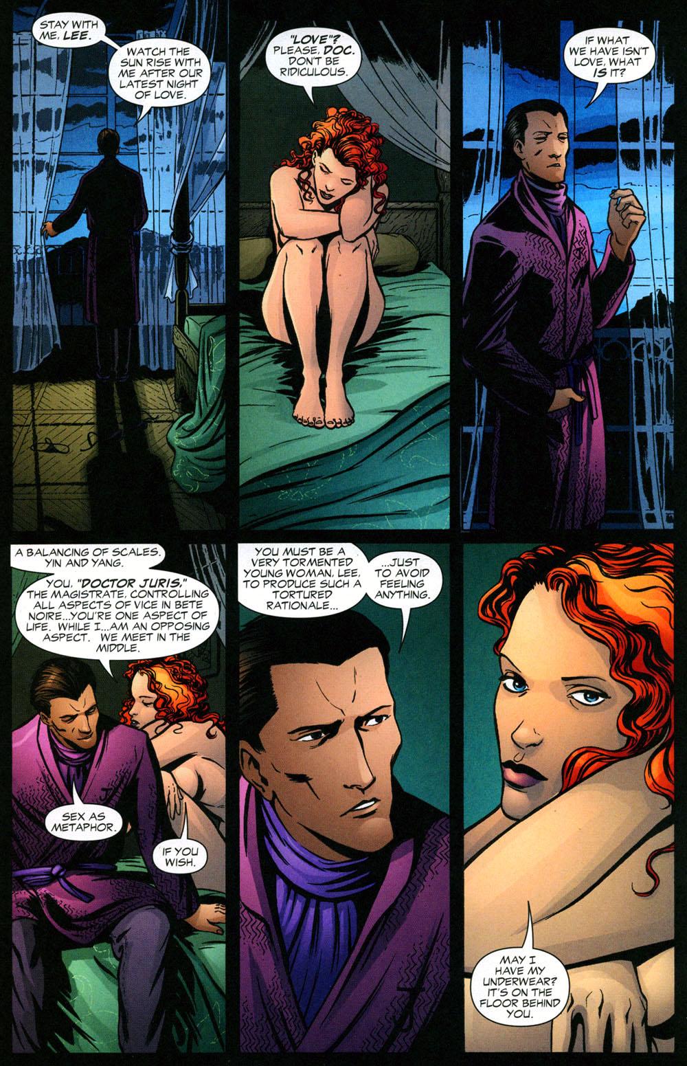 Read online Fallen Angel (2003) comic -  Issue #2 - 2