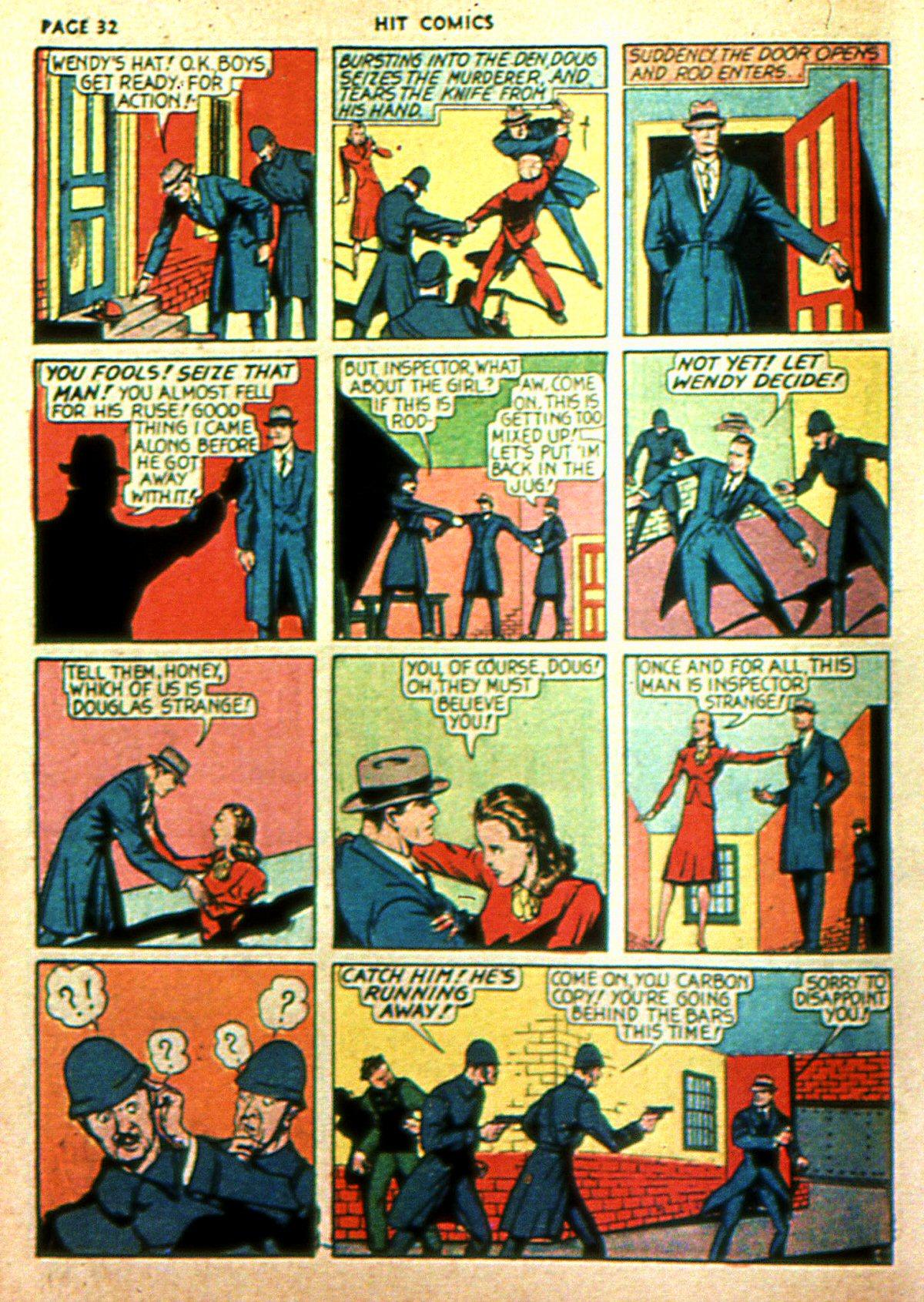 Read online Hit Comics comic -  Issue #2 - 34