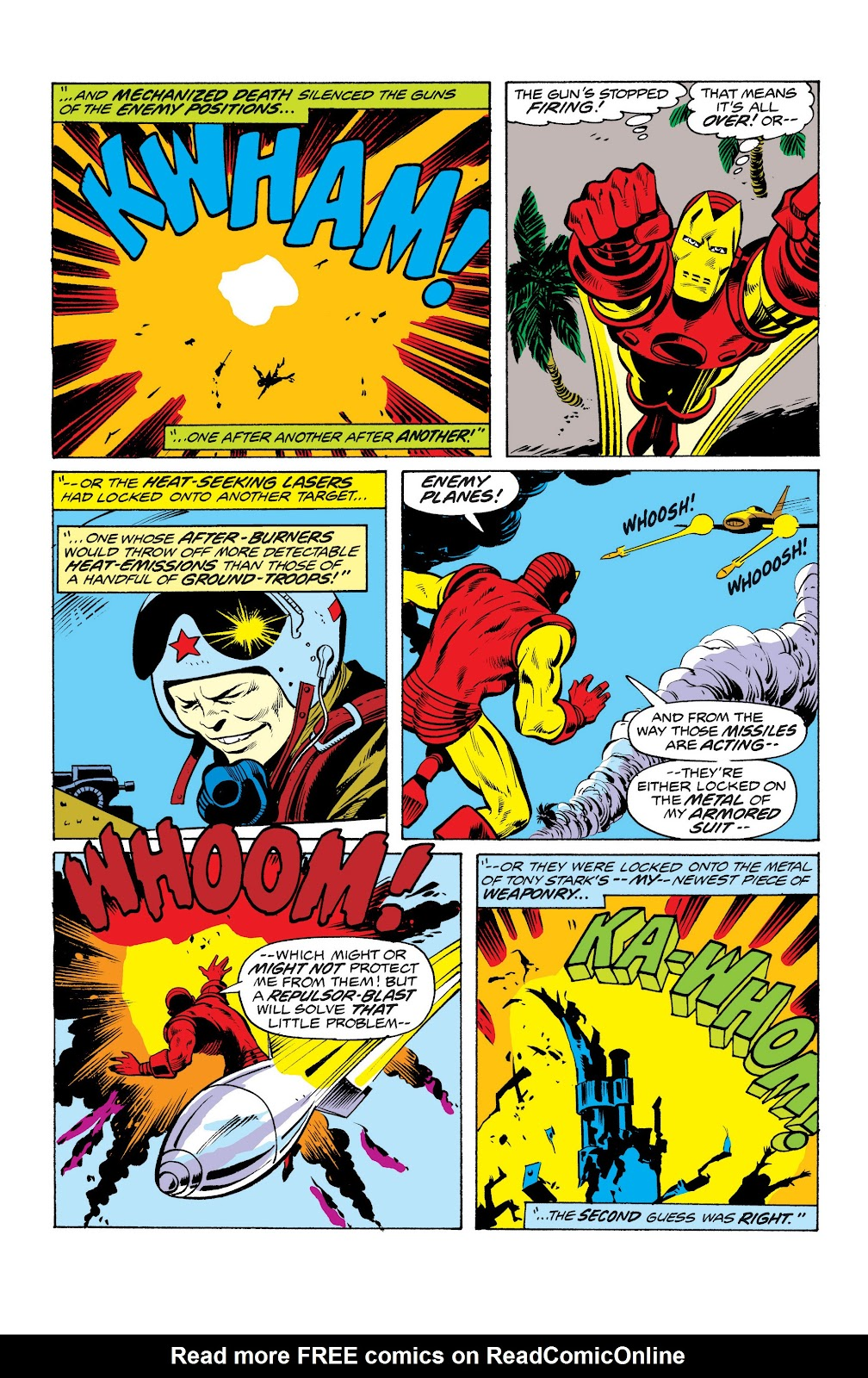 Read online Marvel Masterworks: The Invincible Iron Man comic -  Issue # TPB 10 (Part 2) - 81