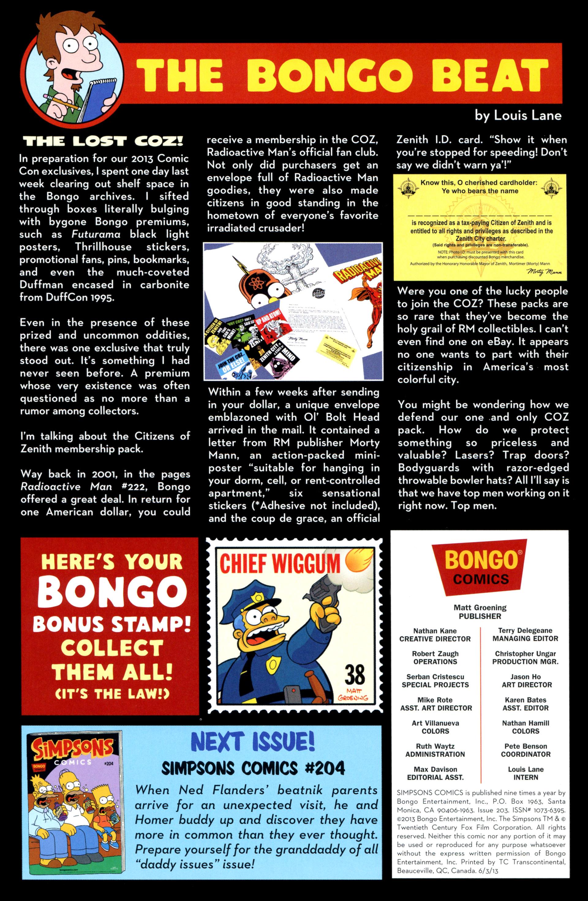 Read online Simpsons Comics comic -  Issue #203 - 19
