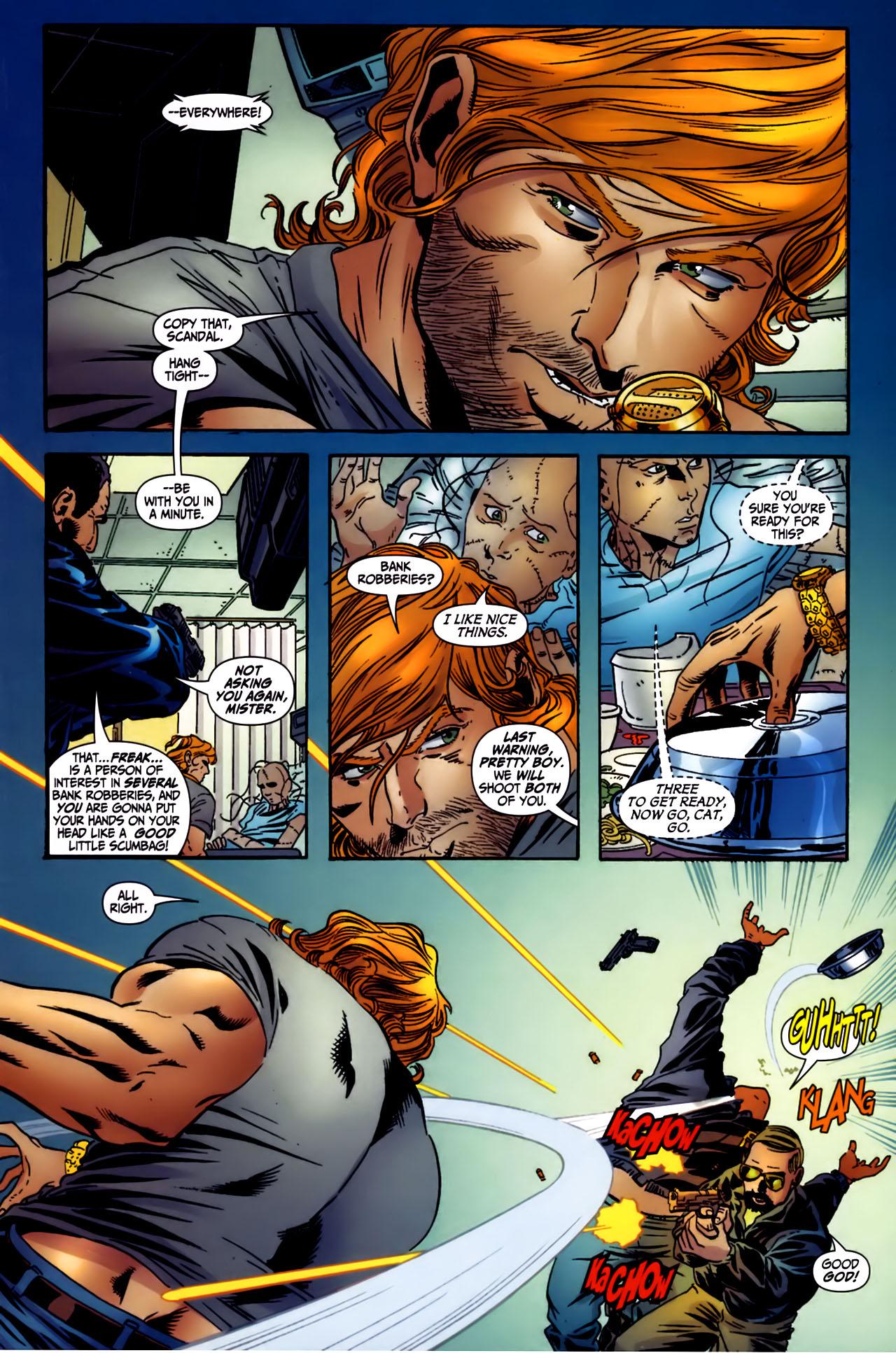 Read online Secret Six (2006) comic -  Issue #3 - 4