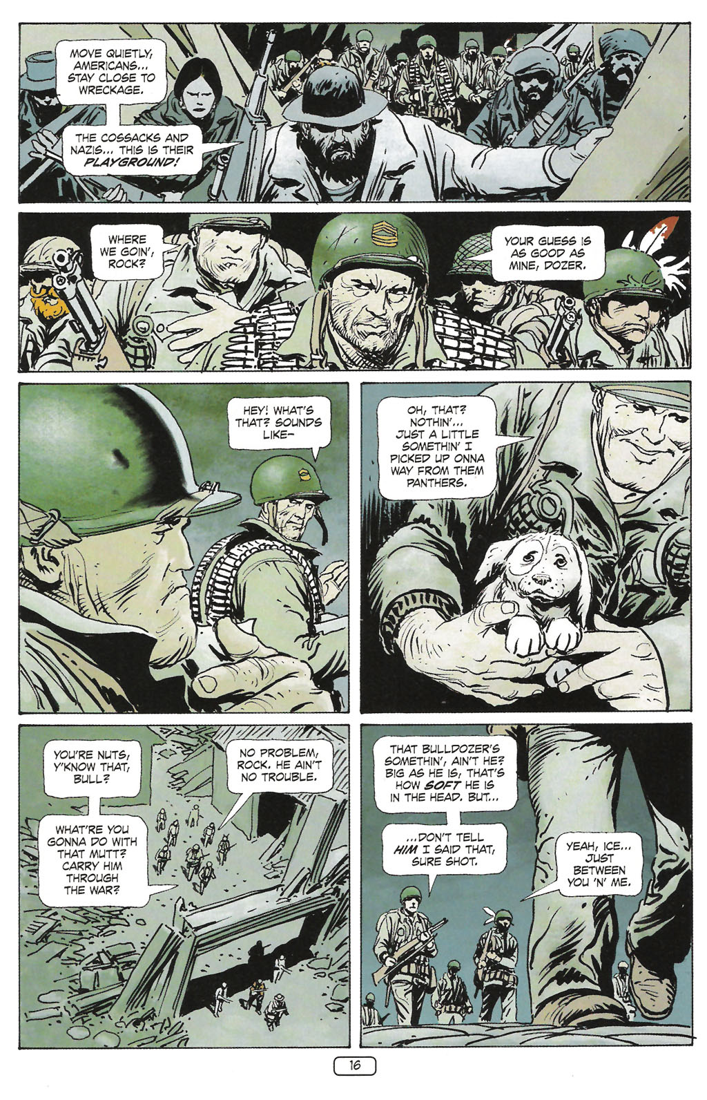 Read online Sgt. Rock: The Prophecy comic -  Issue #1 - 18