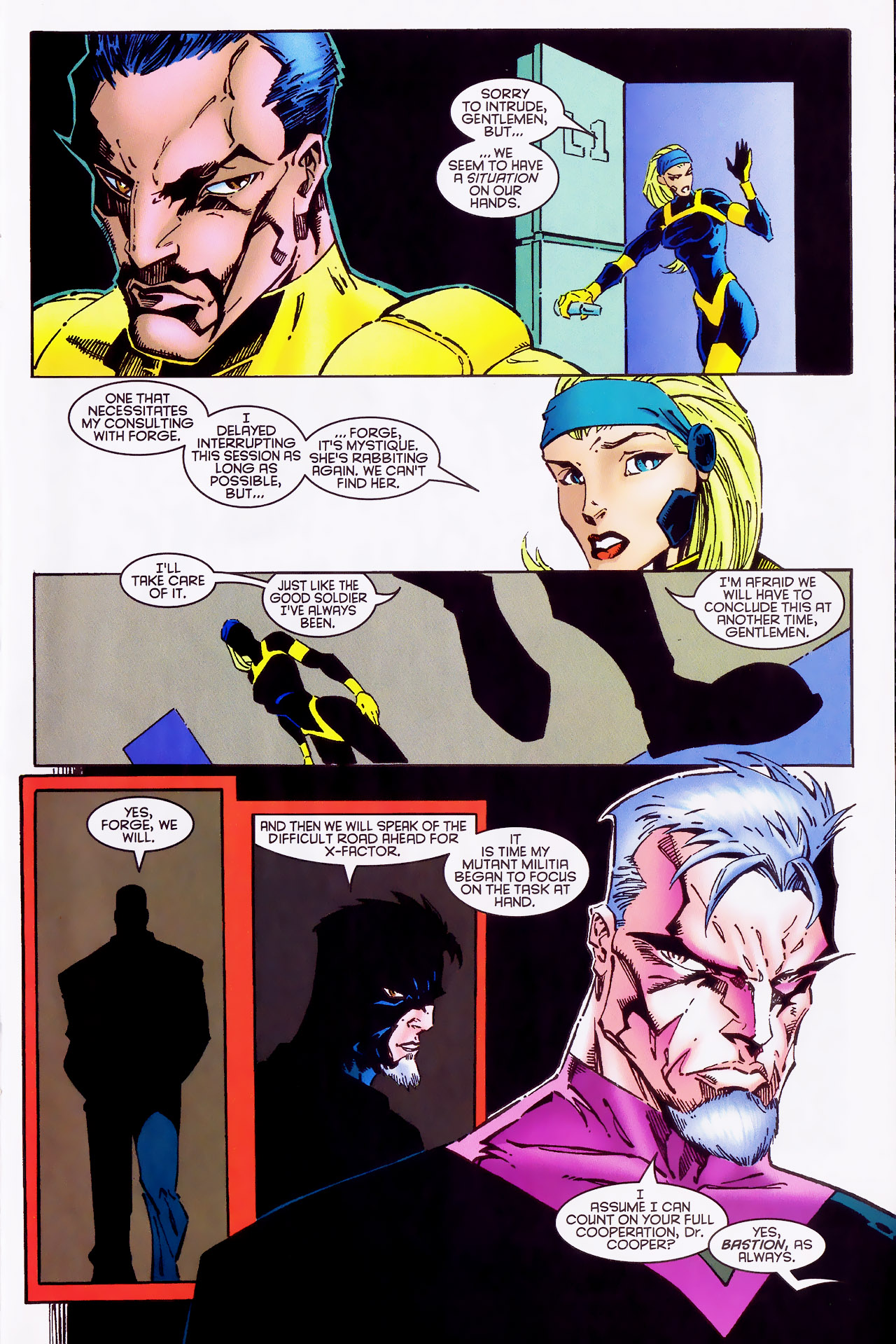 Read online X-Factor (1986) comic -  Issue #127 - 31