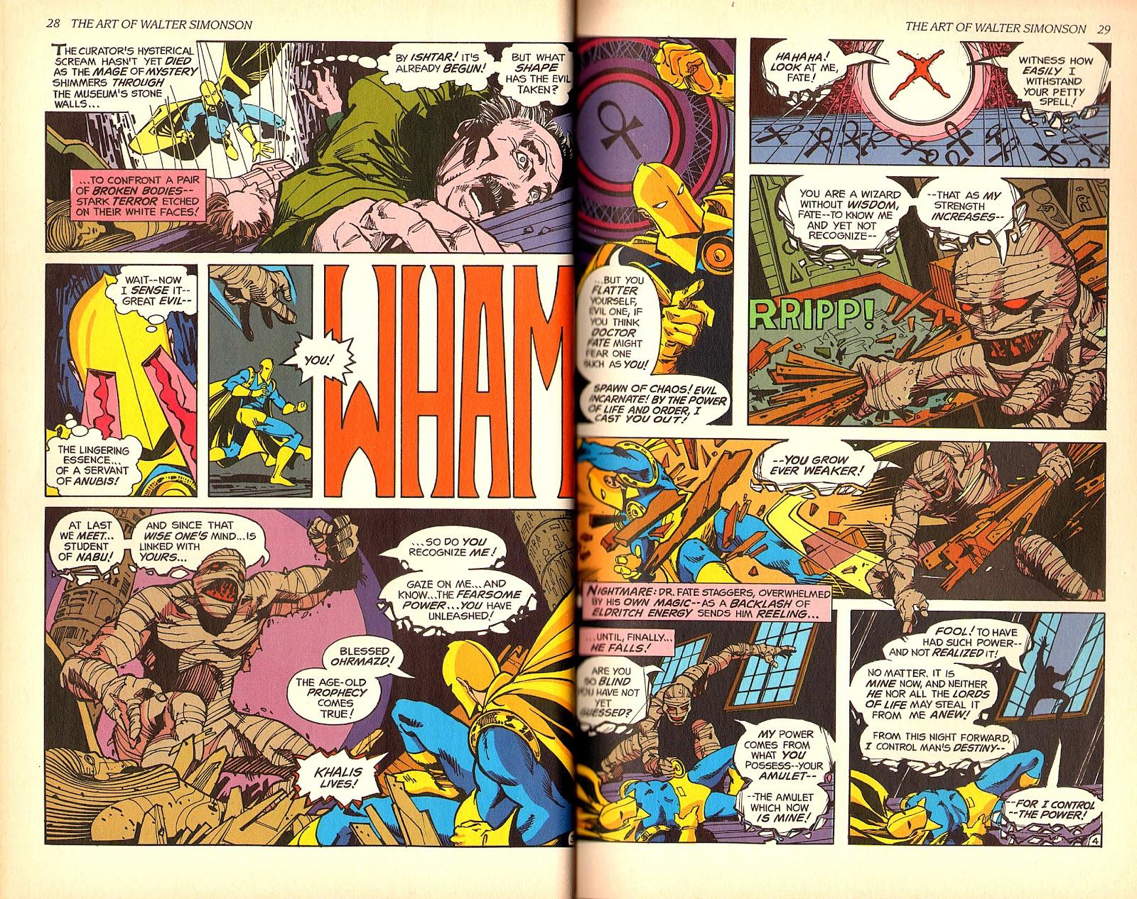 Read online The Art of Walter Simonson comic -  Issue # TPB - 16