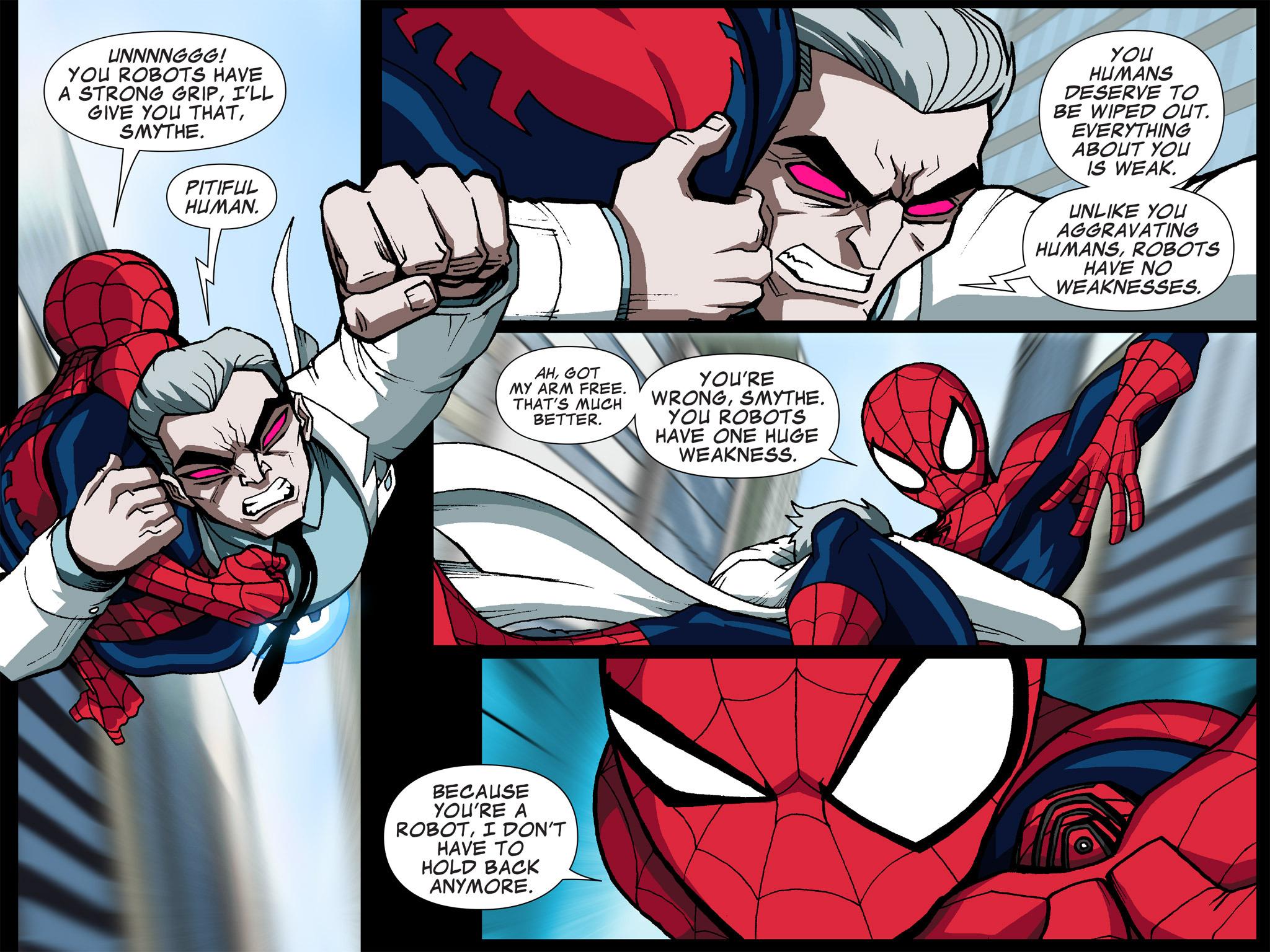 Read online Ultimate Spider-Man (Infinite Comics) (2015) comic -  Issue #5 - 28
