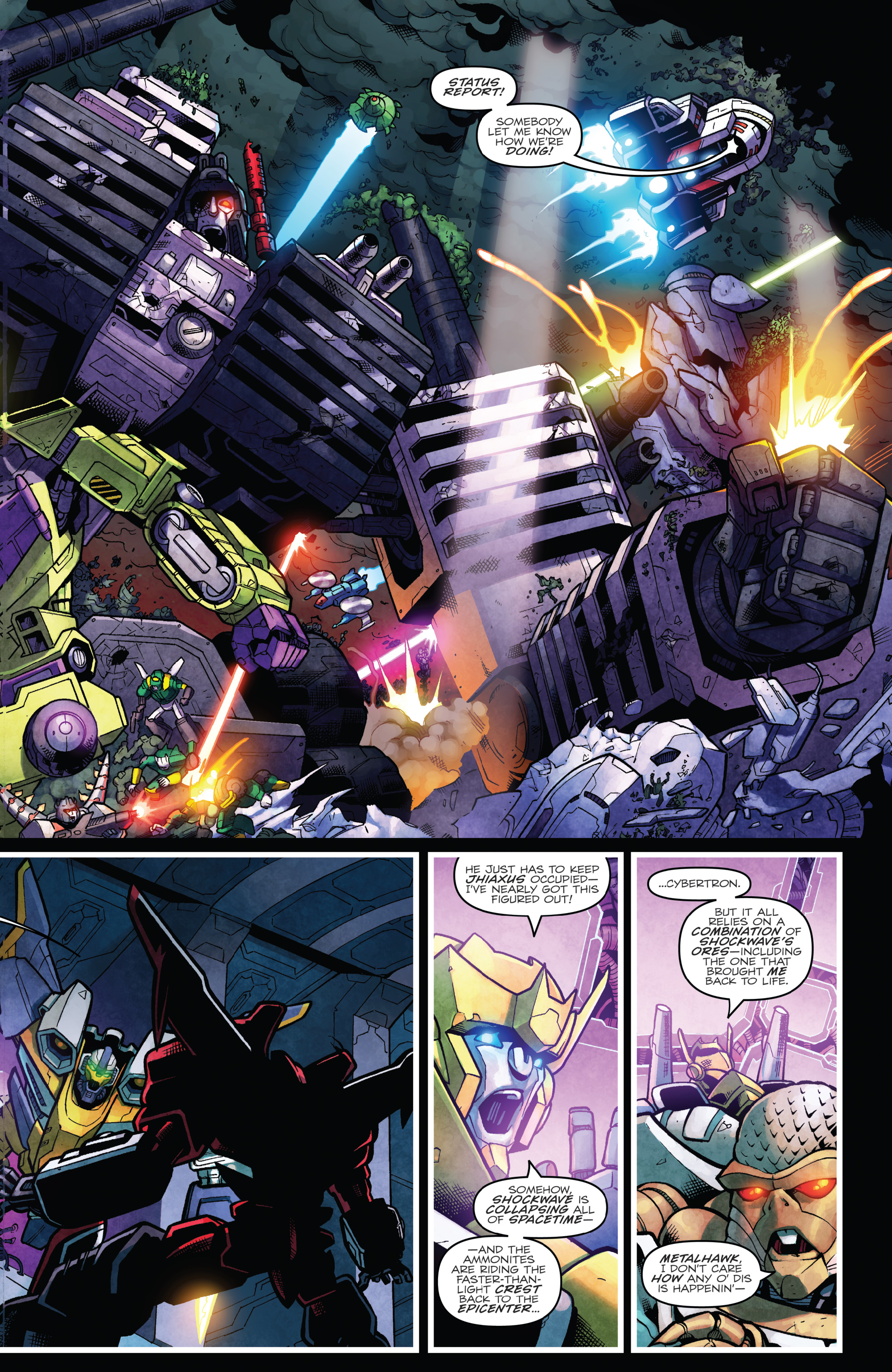 Read online The Transformers: Dark Cybertron Finale comic -  Issue # Full - 128