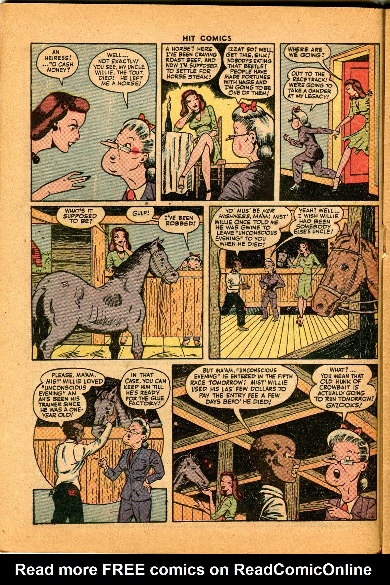 Read online Hit Comics comic -  Issue #35 - 26