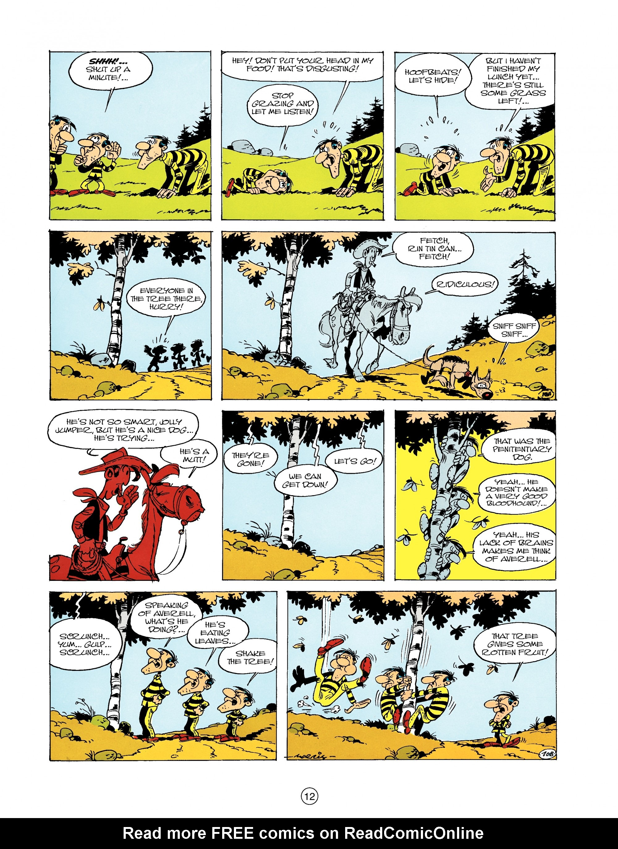 Read online A Lucky Luke Adventure comic -  Issue #19 - 12