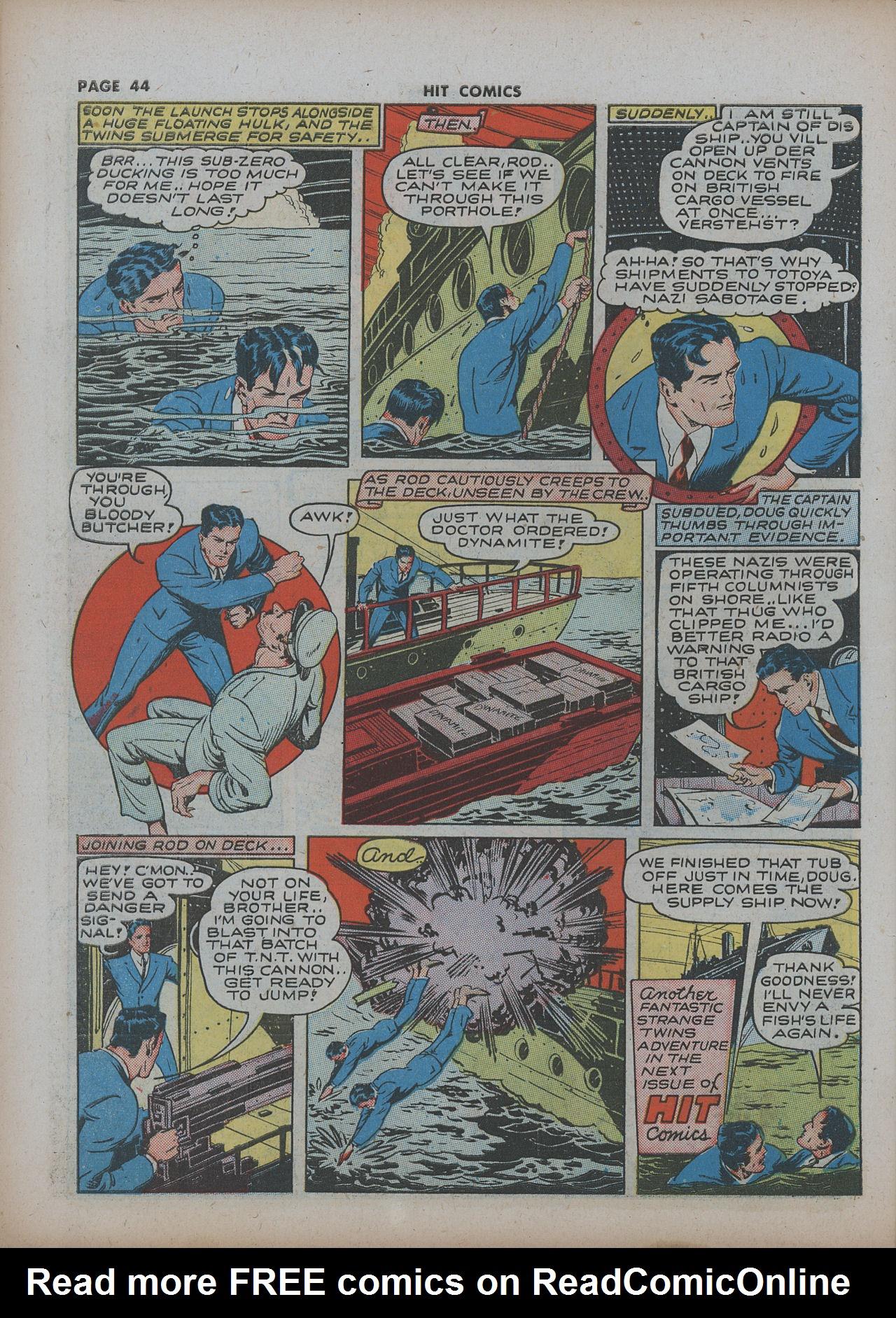 Read online Hit Comics comic -  Issue #22 - 46