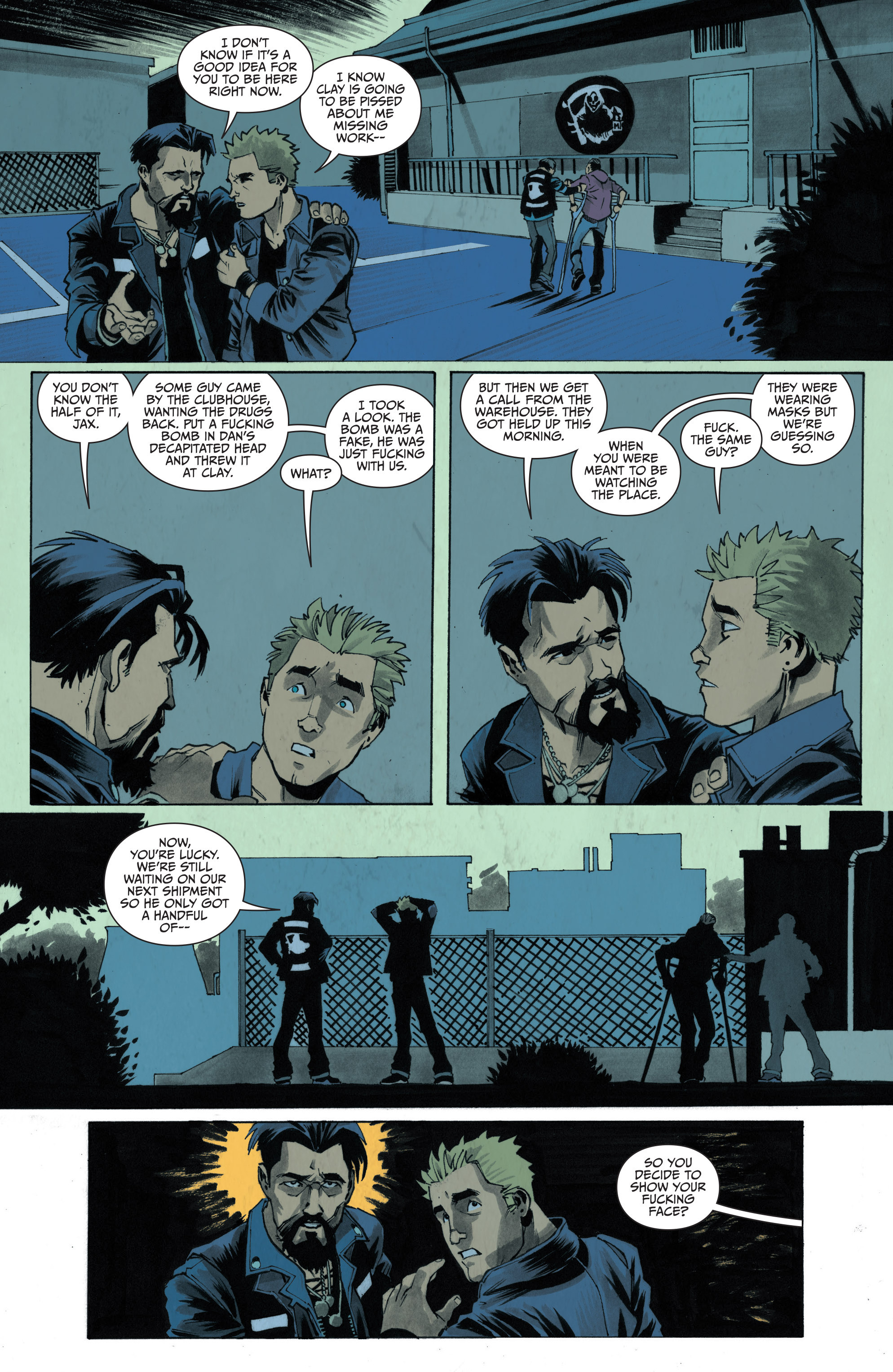 Read online Sons of Anarchy: Redwood Original comic -  Issue #4 - 21