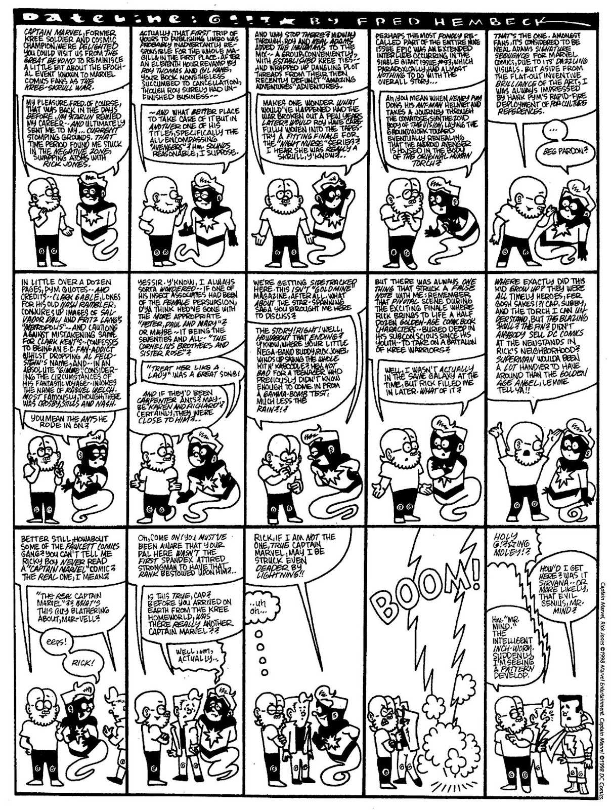 Read online The Nearly Complete Essential Hembeck Archives Omnibus comic -  Issue # TPB (Part 7) - 2