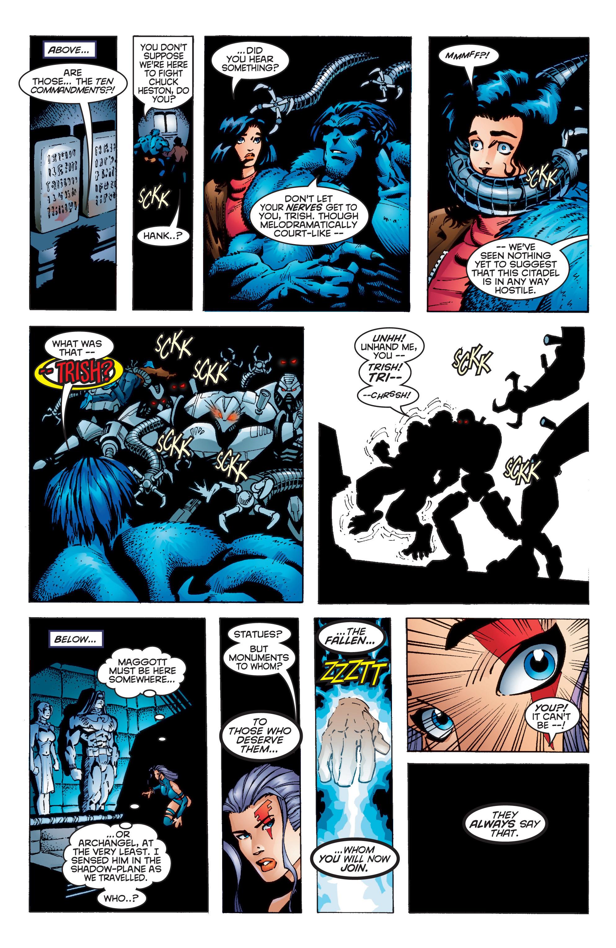 Read online Uncanny X-Men (1963) comic -  Issue #350 - 19
