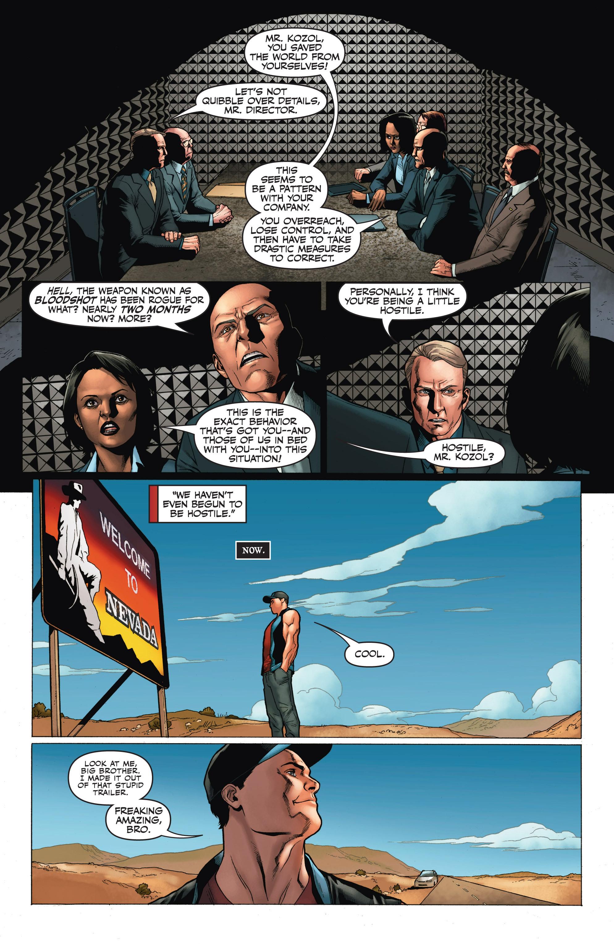 Read online Armor Hunters: Harbinger comic -  Issue # TPB - 87