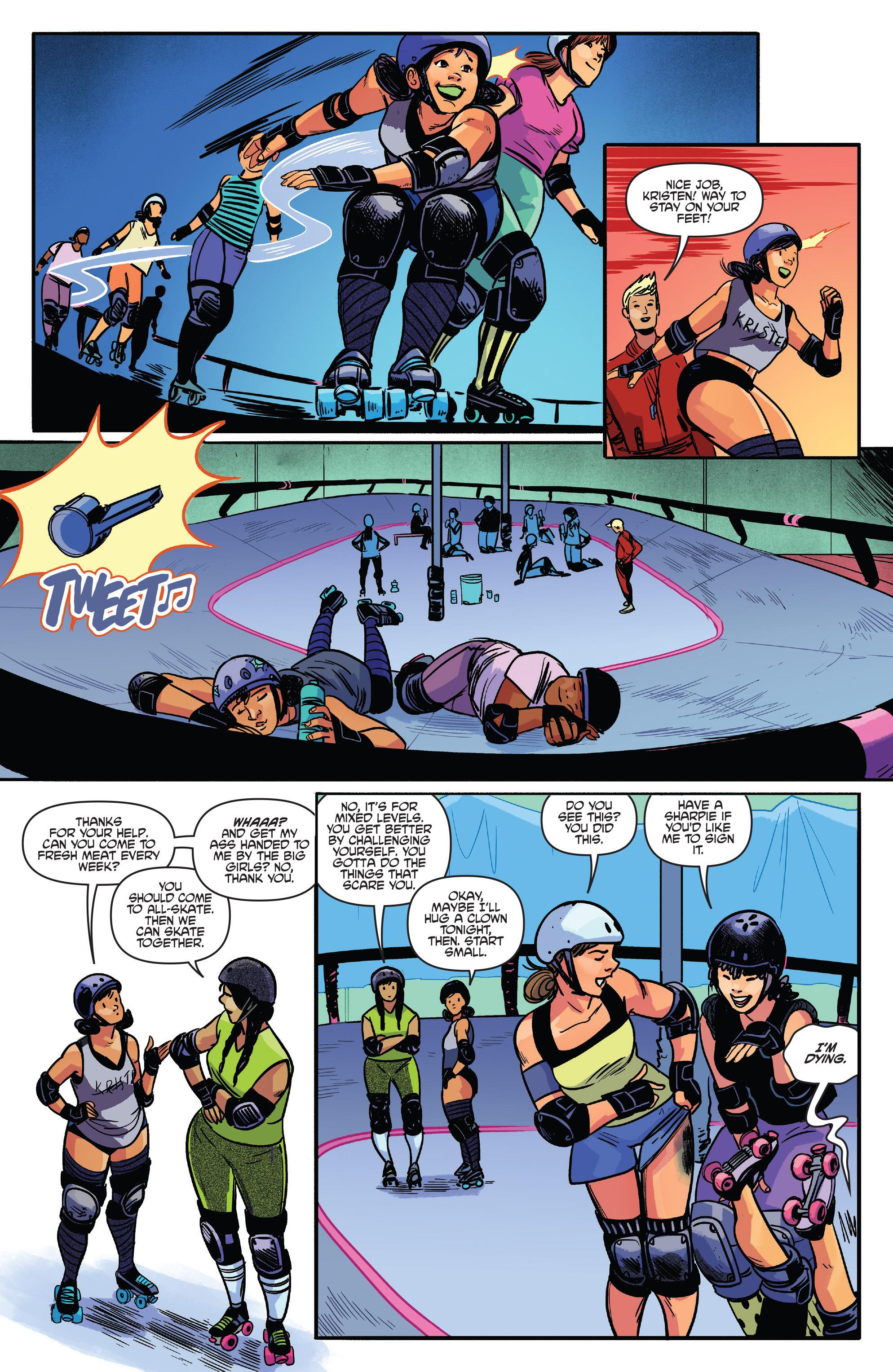 Read online Slam! comic -  Issue #3 - 17