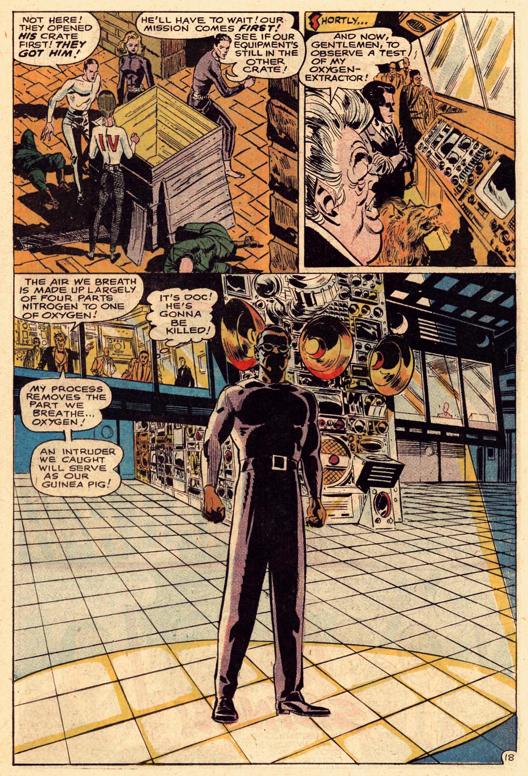 Read online Secret Six (1968) comic -  Issue #1 - 25