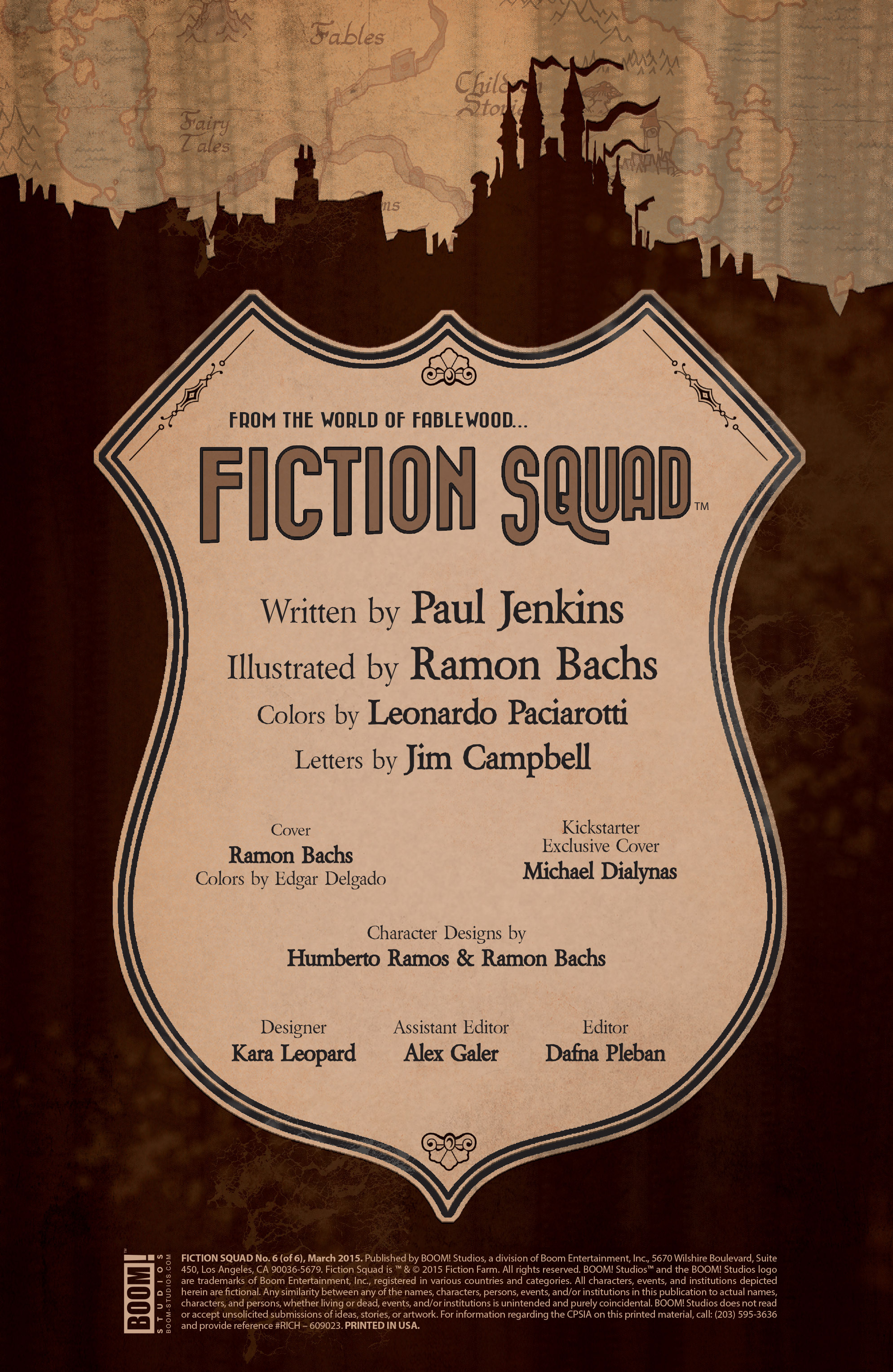 Read online Fiction Squad comic -  Issue #6 - 2