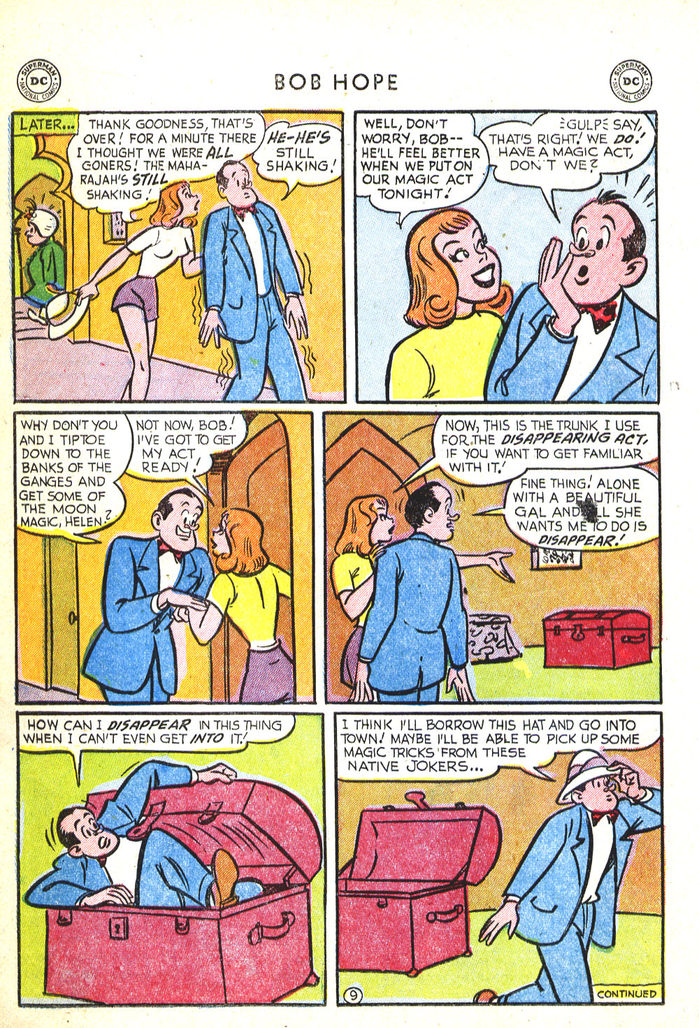 The Adventures of Bob Hope issue 30 - Page 22