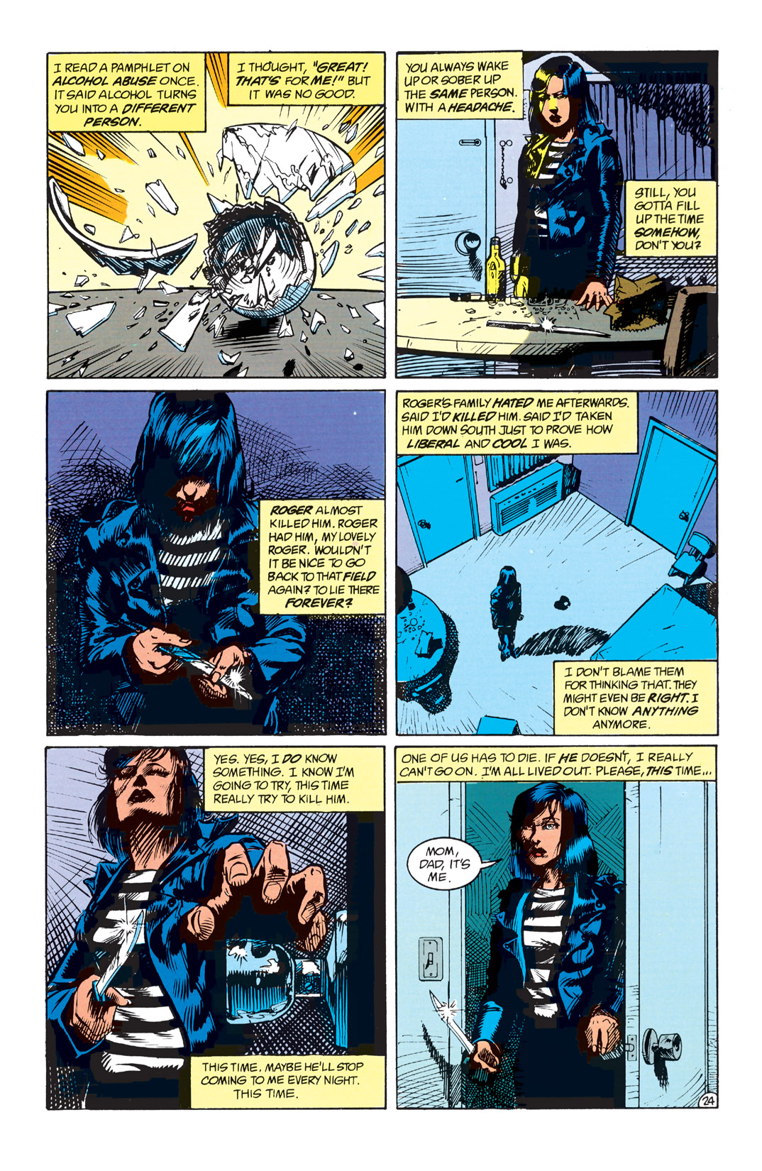 Read online Shade, the Changing Man comic -  Issue #1 - 26