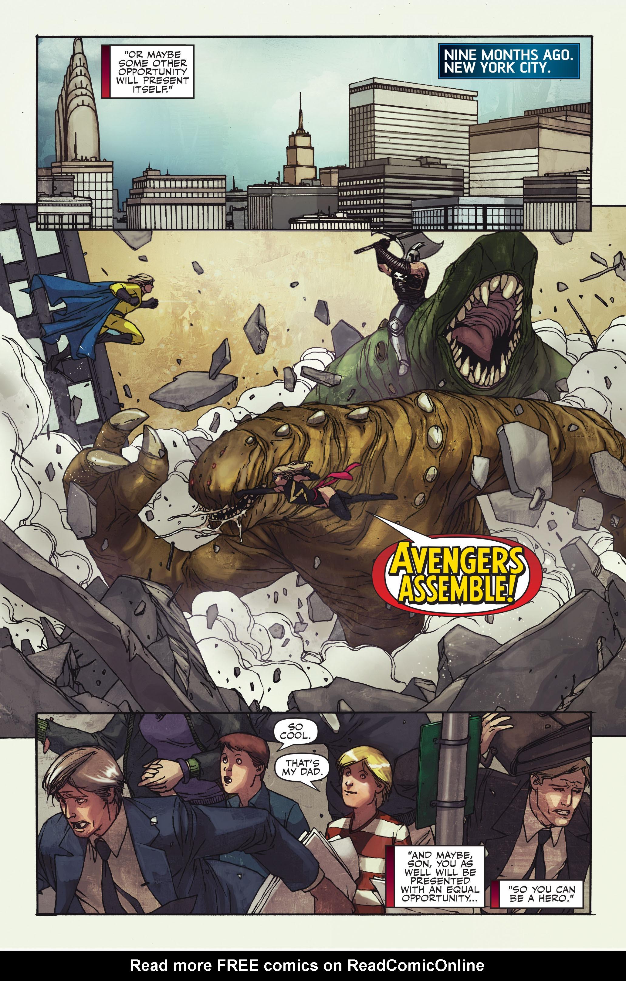 Read online Secret Warriors comic -  Issue #10 - 11