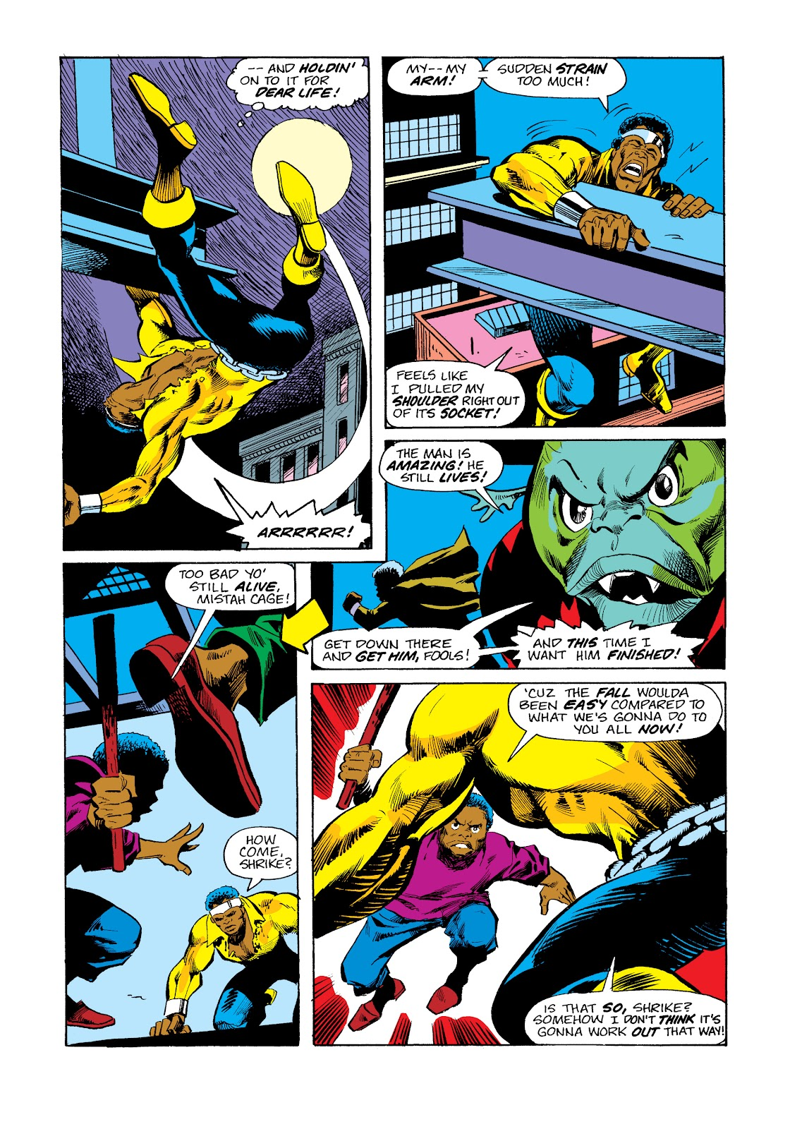 Read online Marvel Masterworks: Luke Cage, Power Man comic -  Issue # TPB 2 (Part 3) - 53
