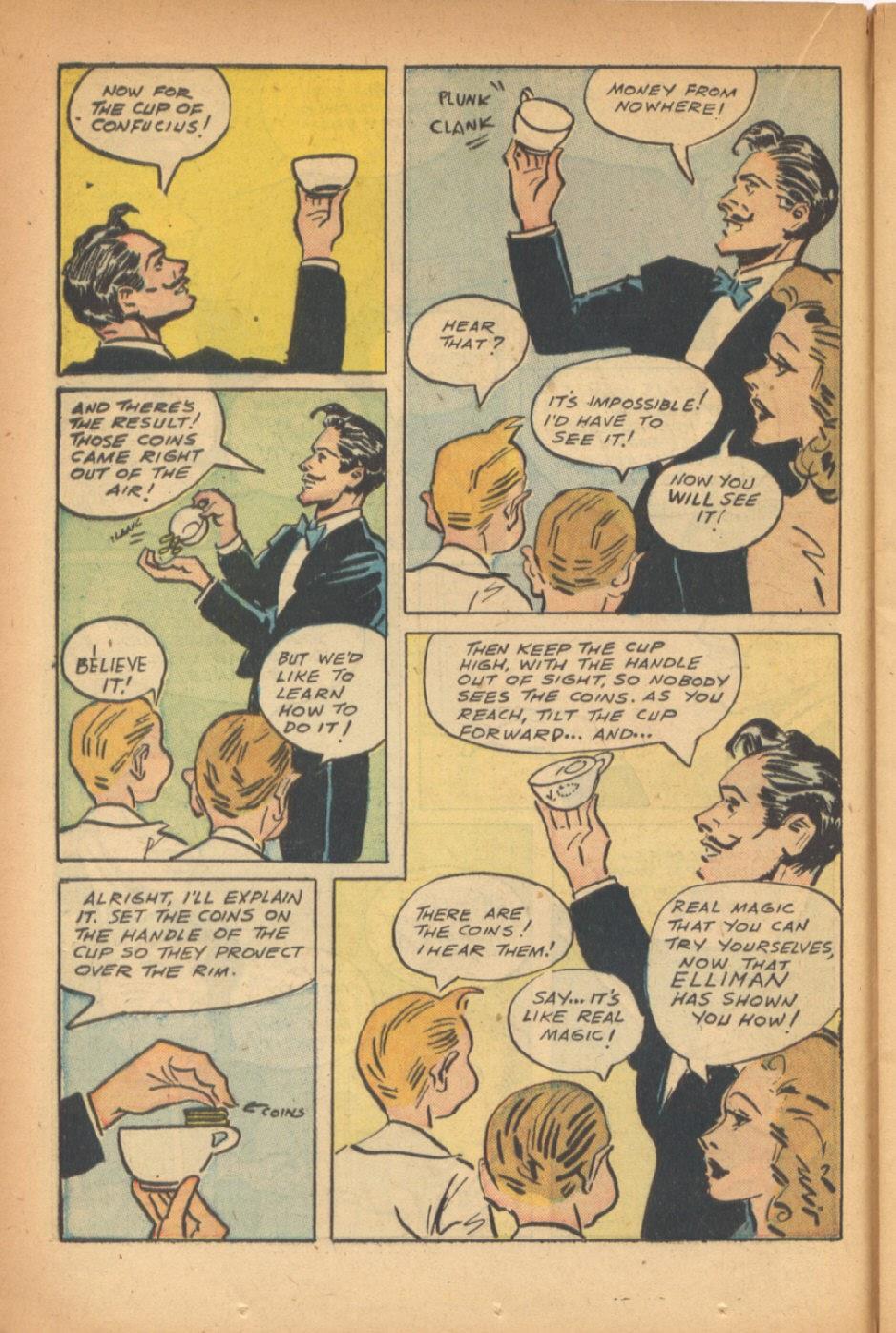 Read online Super-Magician Comics comic -  Issue #47 - 20