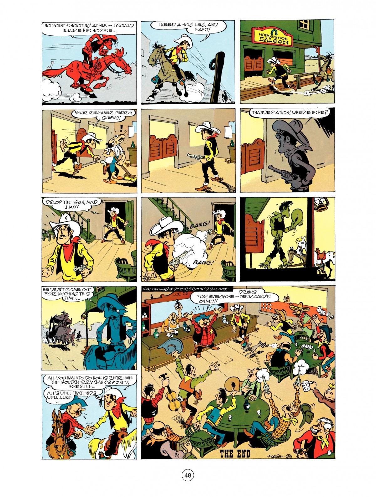 Read online A Lucky Luke Adventure comic -  Issue #48 - 48