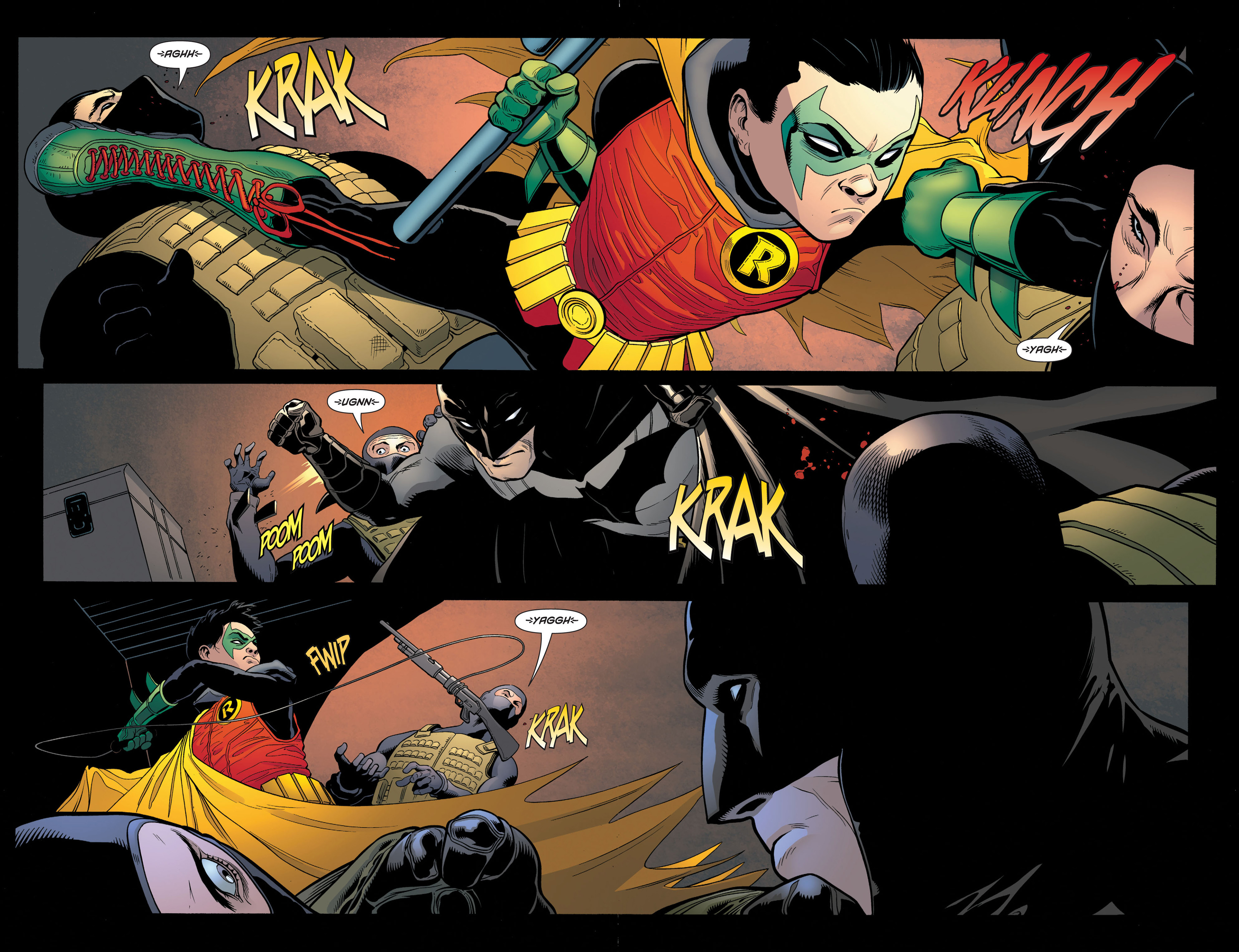 Read online Batman and Robin (2011) comic -  Issue #2 - 8