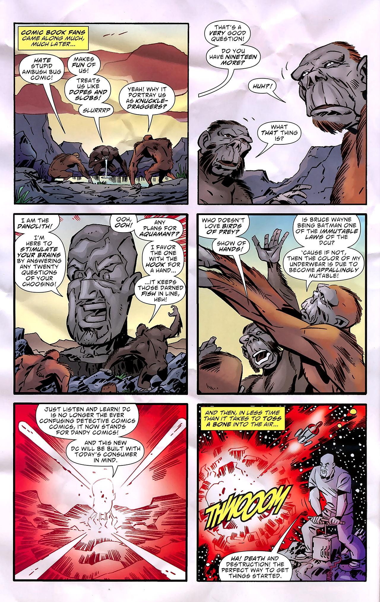 Read online Ambush Bug: Year None comic -  Issue #7 - 9