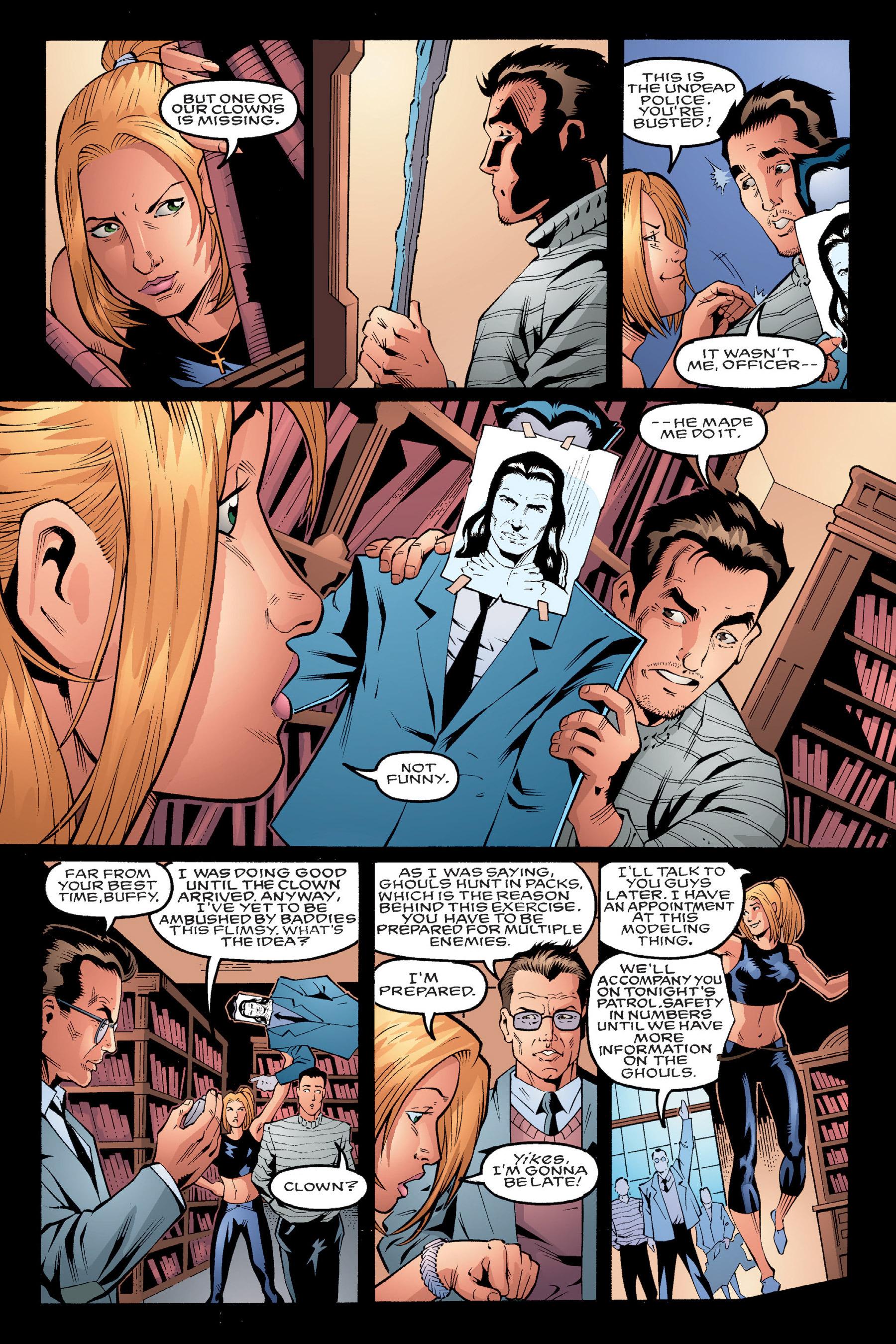 Read online Buffy the Vampire Slayer: Omnibus comic -  Issue # TPB 4 - 34