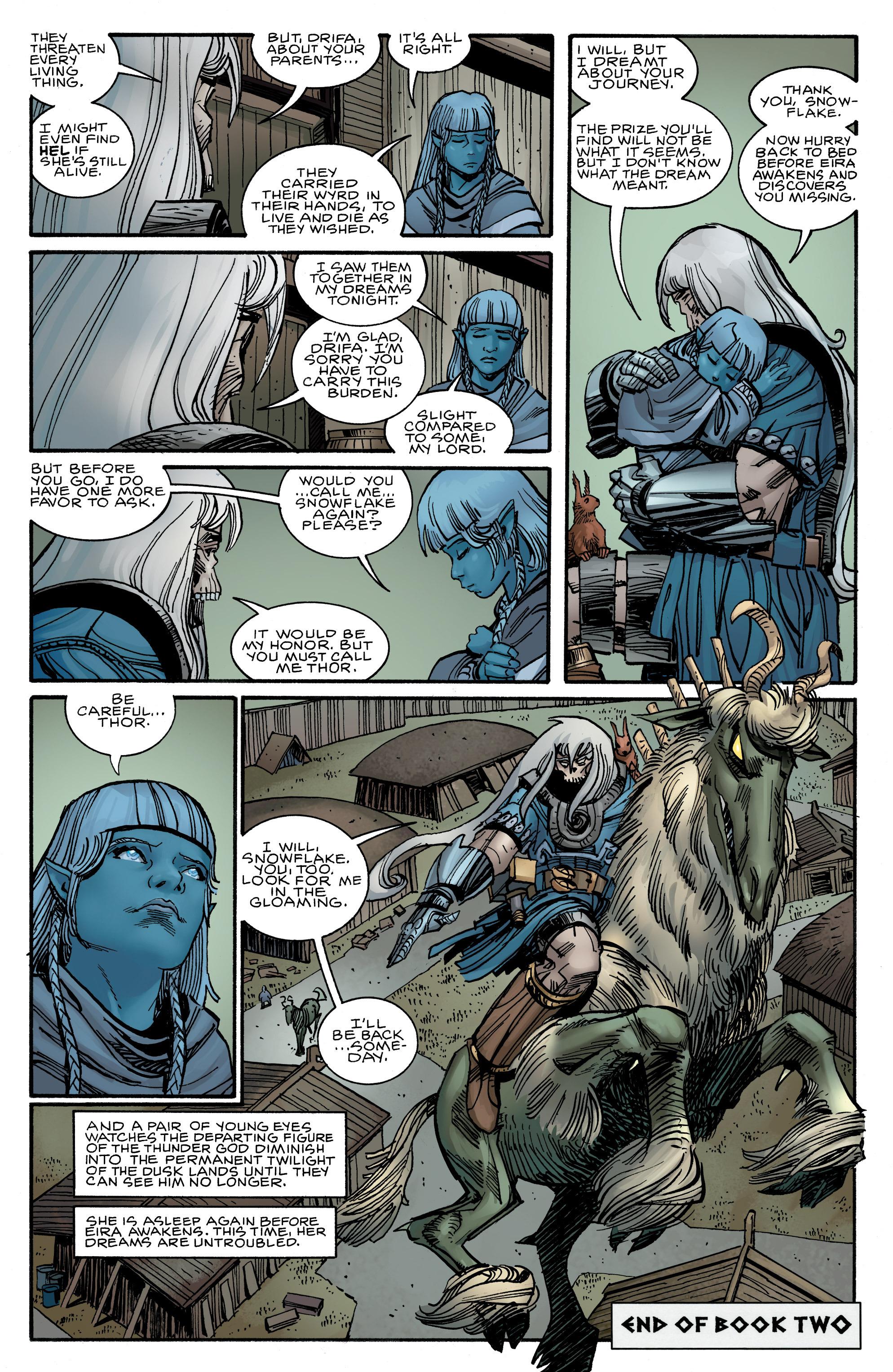 Read online Ragnarok comic -  Issue #12 - 22