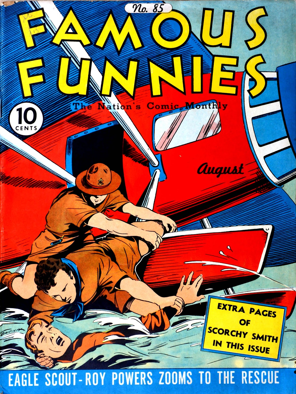 Read online Famous Funnies comic -  Issue #85 - 1