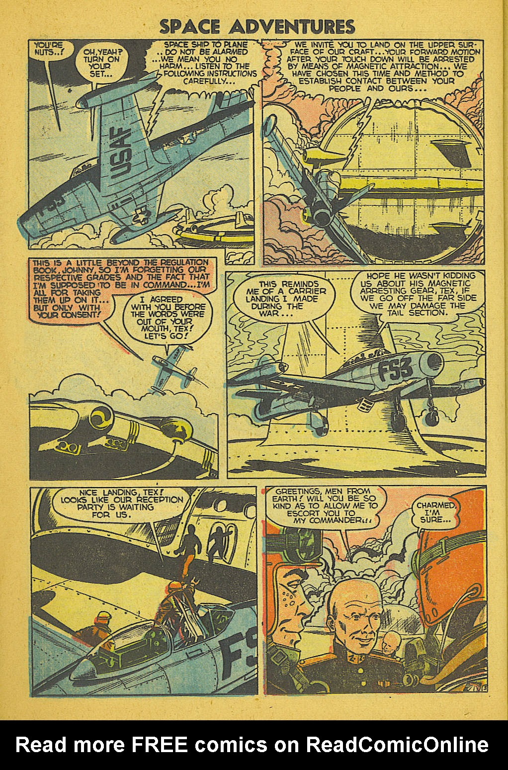 Read online Space Adventures comic -  Issue #18 - 21
