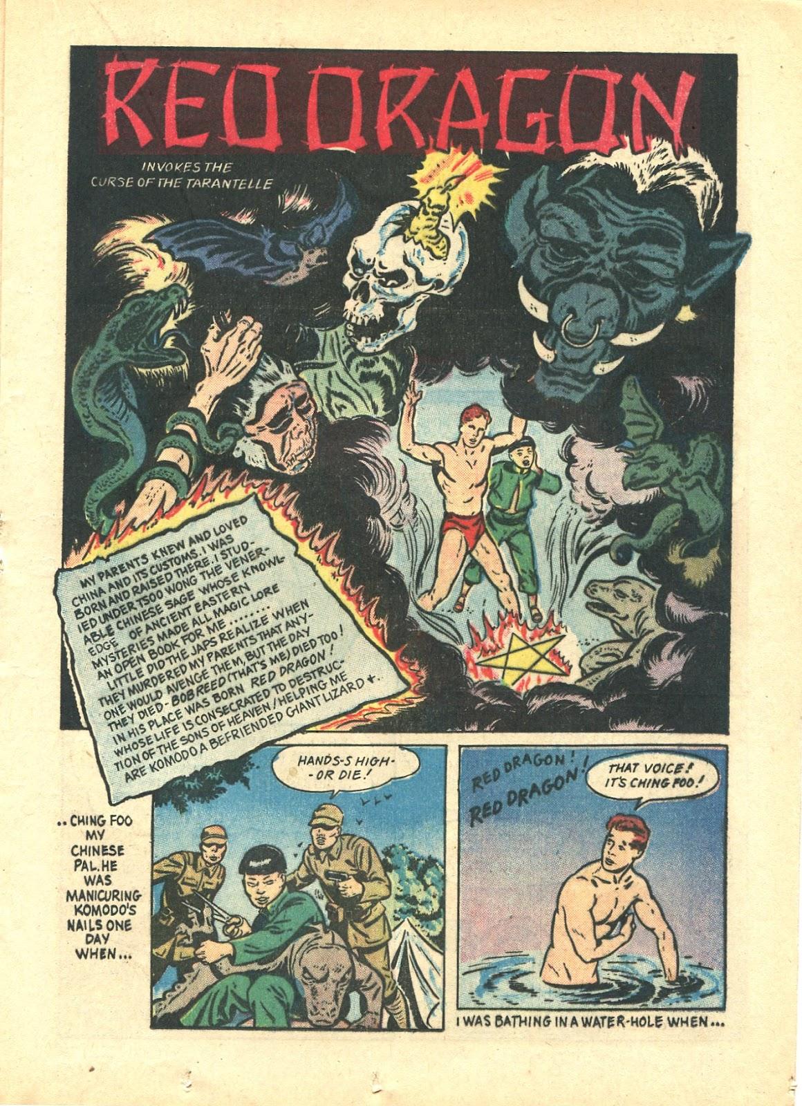 Read online Super-Magician Comics comic -  Issue #21 - 33