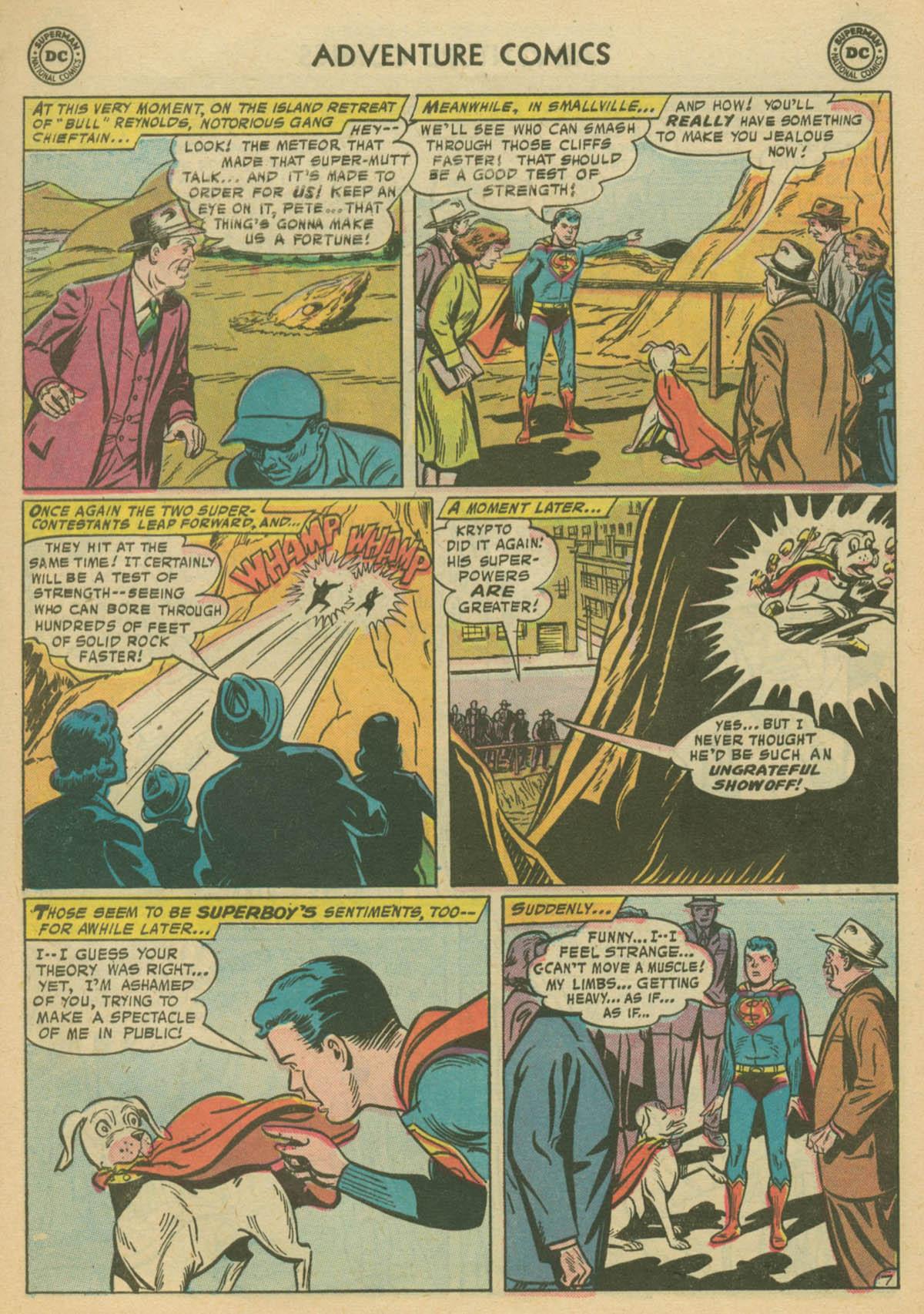 Read online Adventure Comics (1938) comic -  Issue #239 - 9