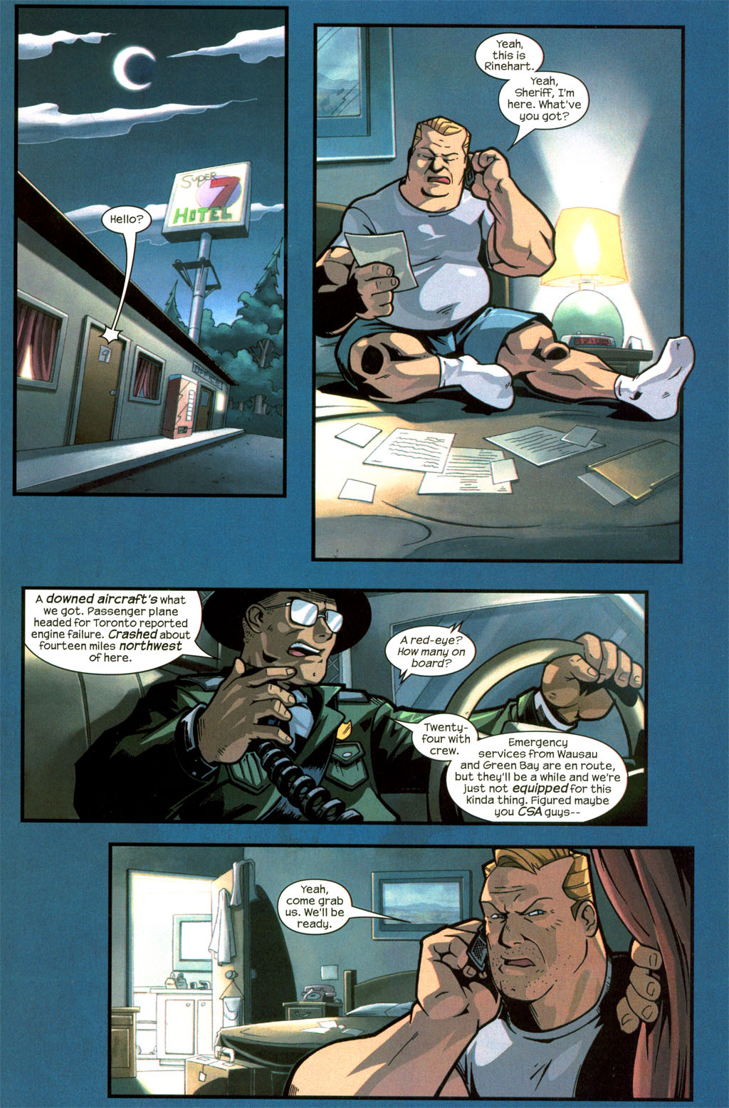 Read online Sentinel comic -  Issue #8 - 7