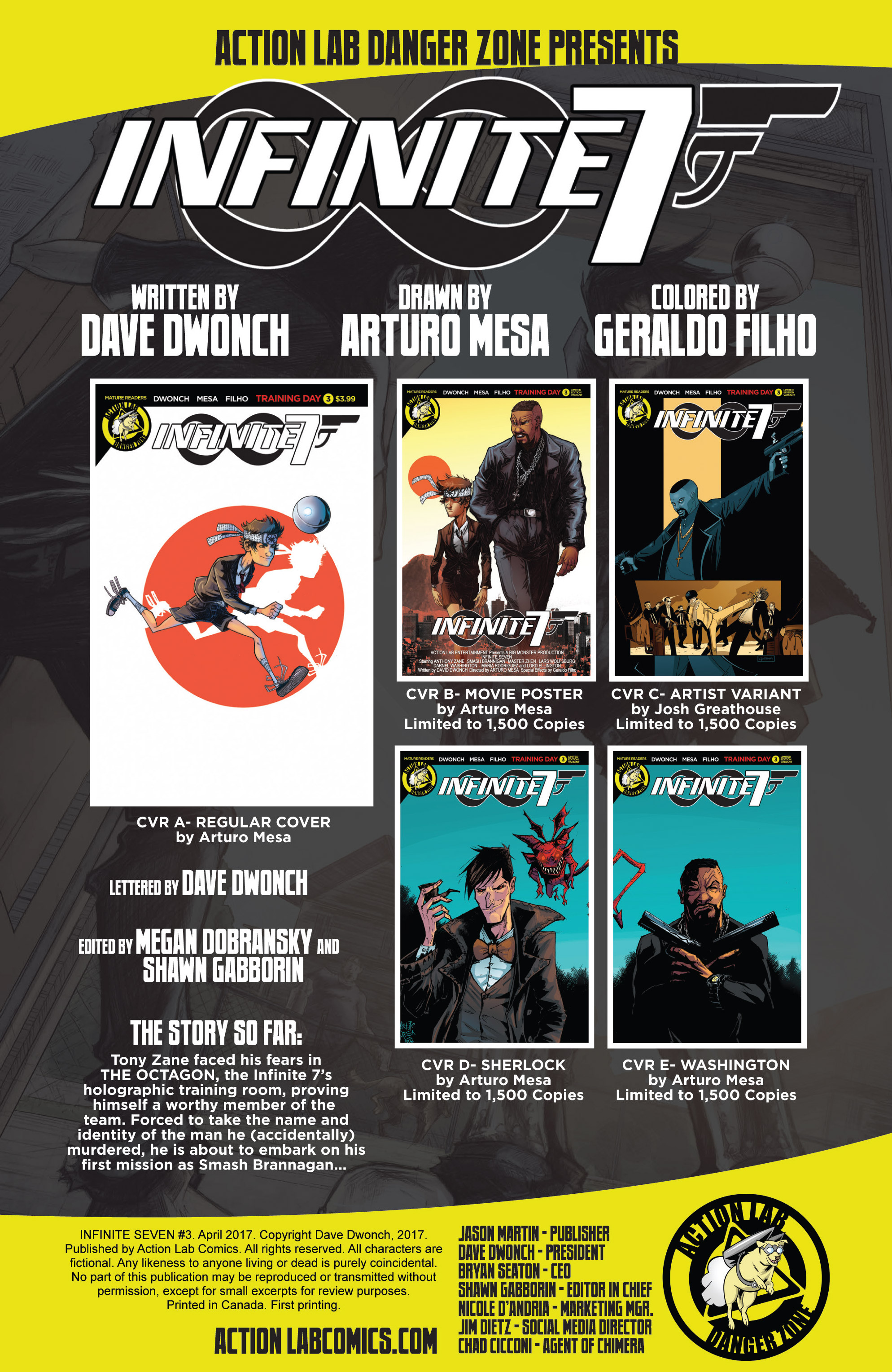 Read online Infinite Seven comic -  Issue #3 - 2