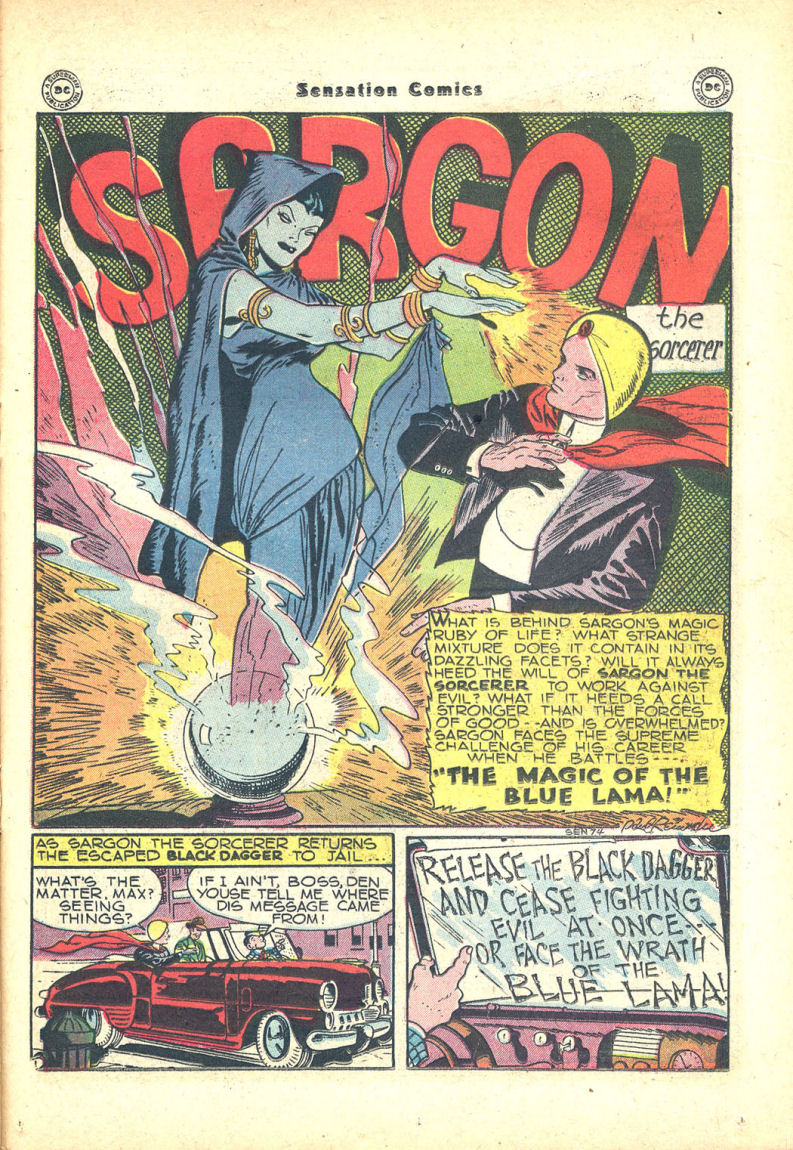 Read online Sensation (Mystery) Comics comic -  Issue #68 - 33