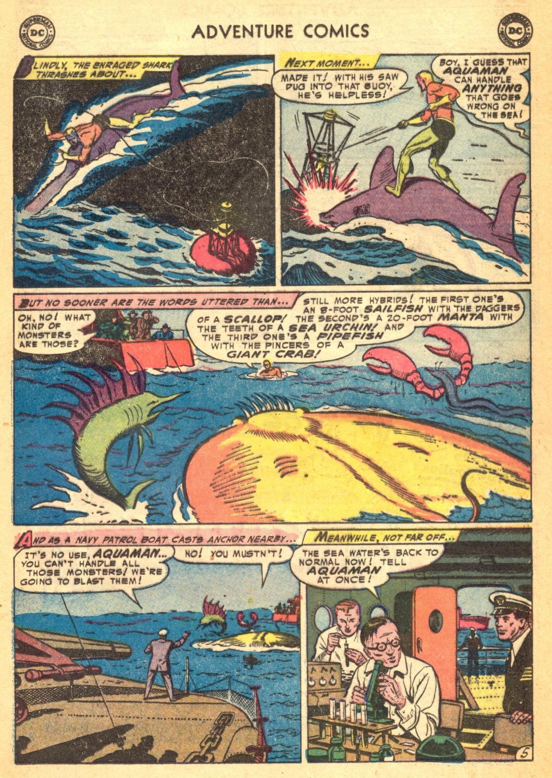 Read online Adventure Comics (1938) comic -  Issue #202 - 29